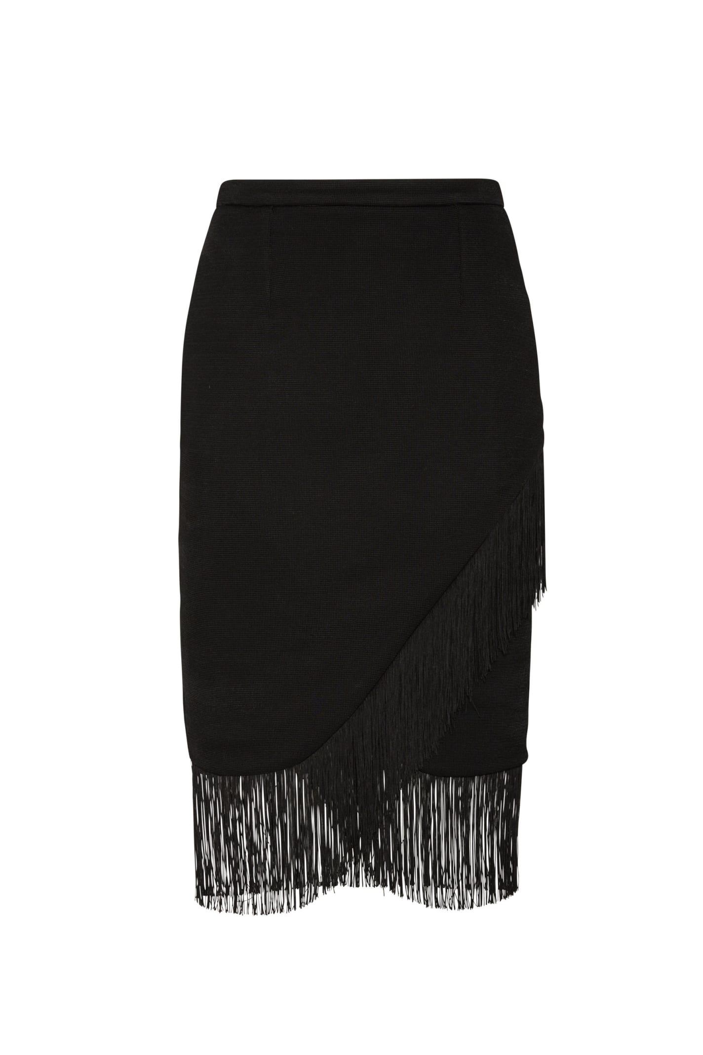 Lola Skirt In Black Jersey
