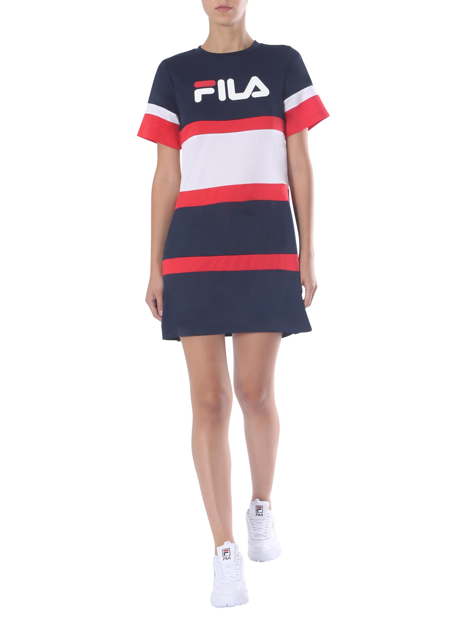 Buy Fila Crew Neck Dress online, shop Fila with free shipping