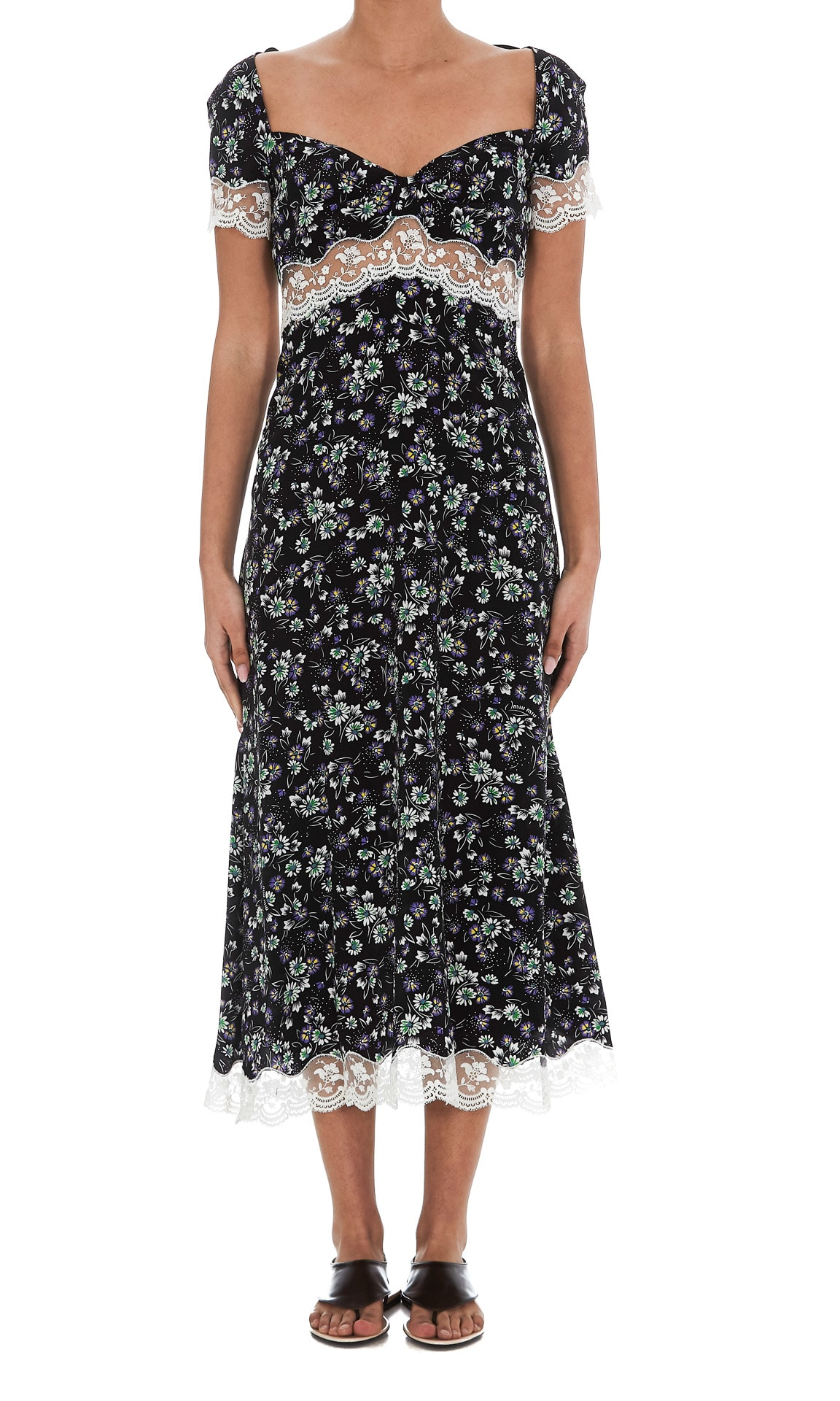 Buy Miu Miu Marocaine Dress online, shop Miu Miu with free shipping