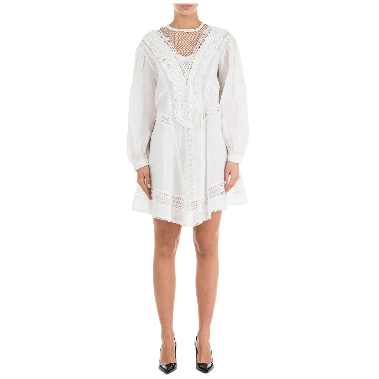 Buy Isabel Marant Rowina Mini Dress online, shop Isabel Marant with free shipping