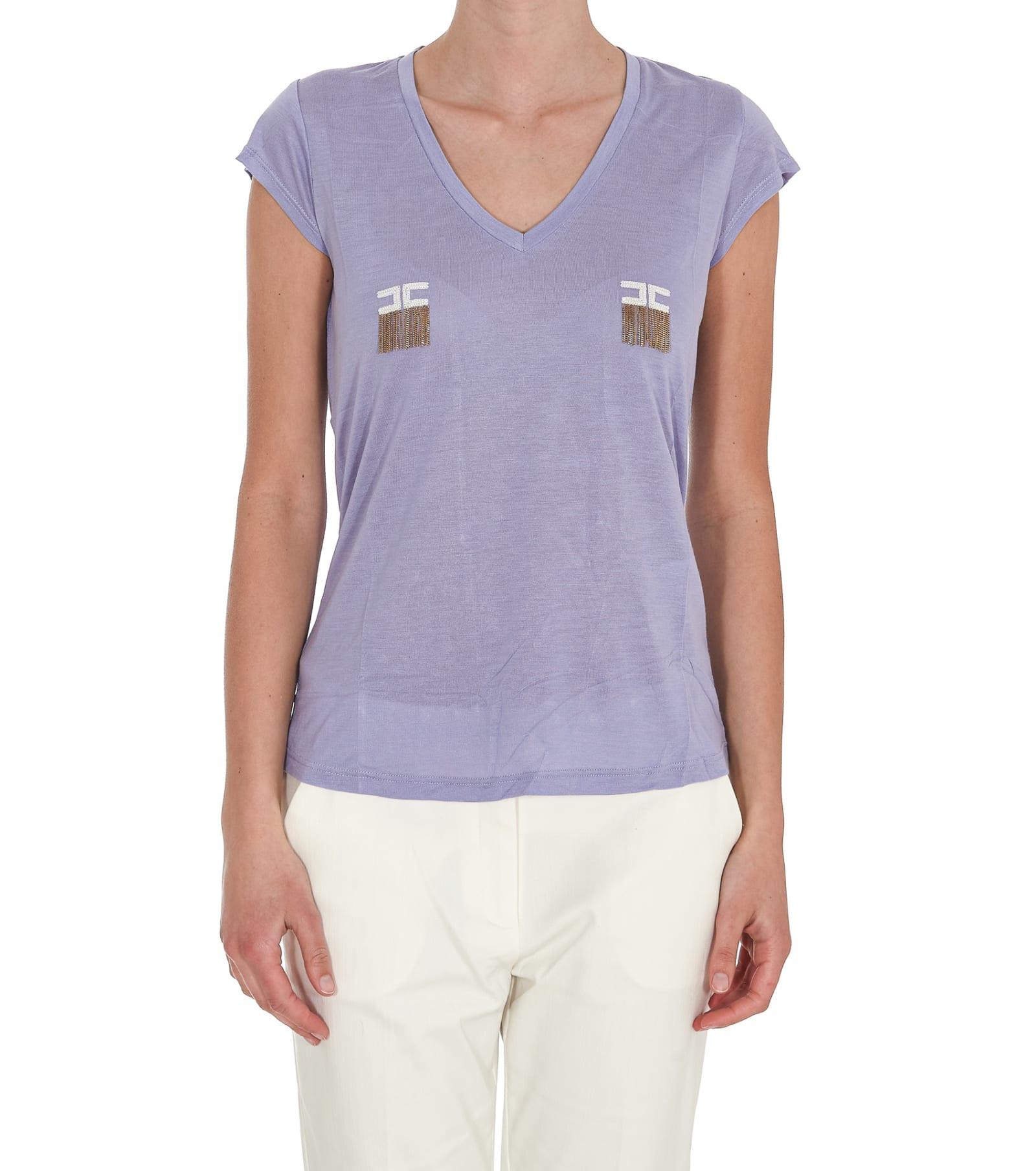 Elisabetta Franchi T-shirts T-SHIRT