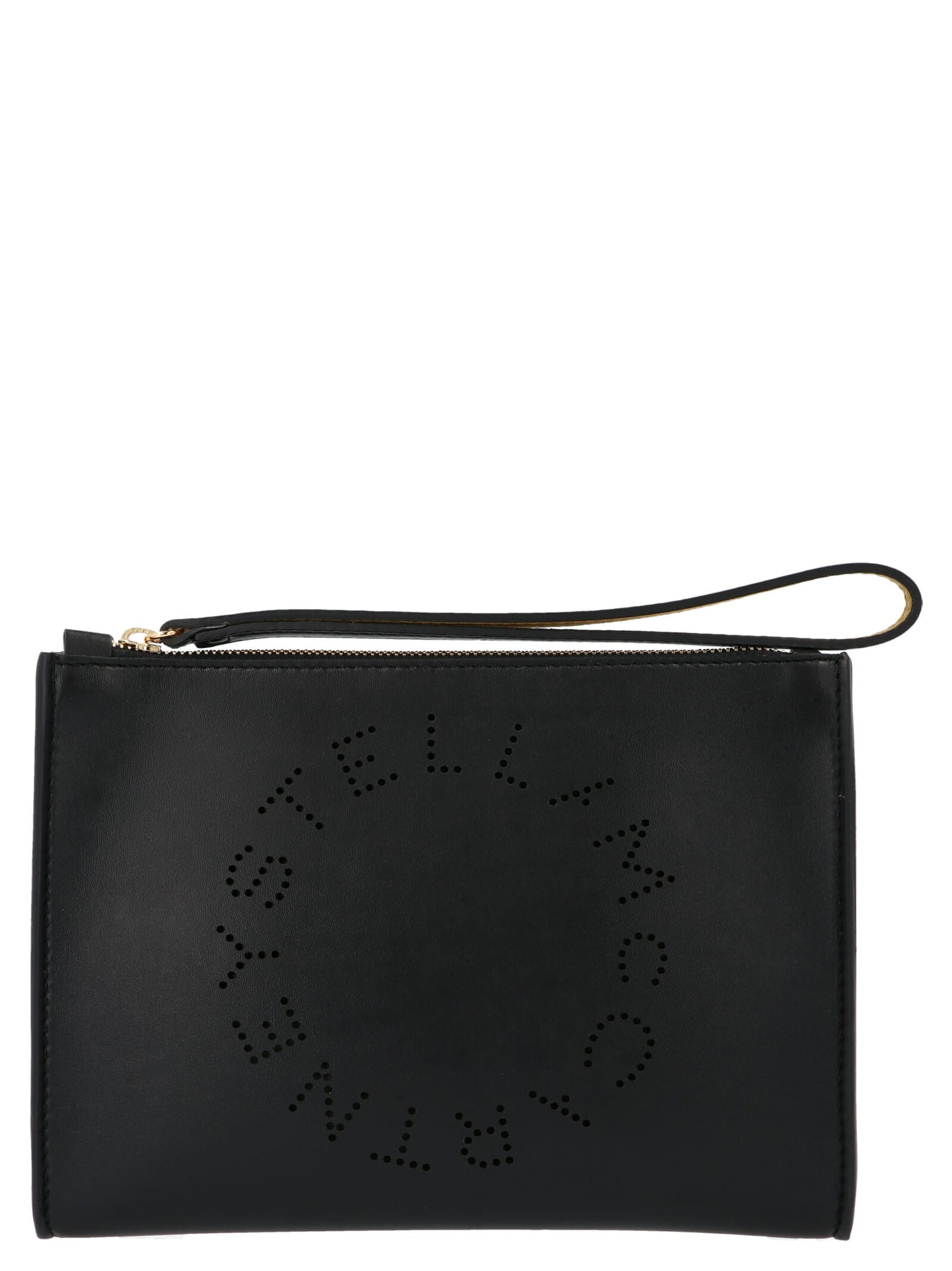 Stella Mccartney Stella Logo Bag In Black