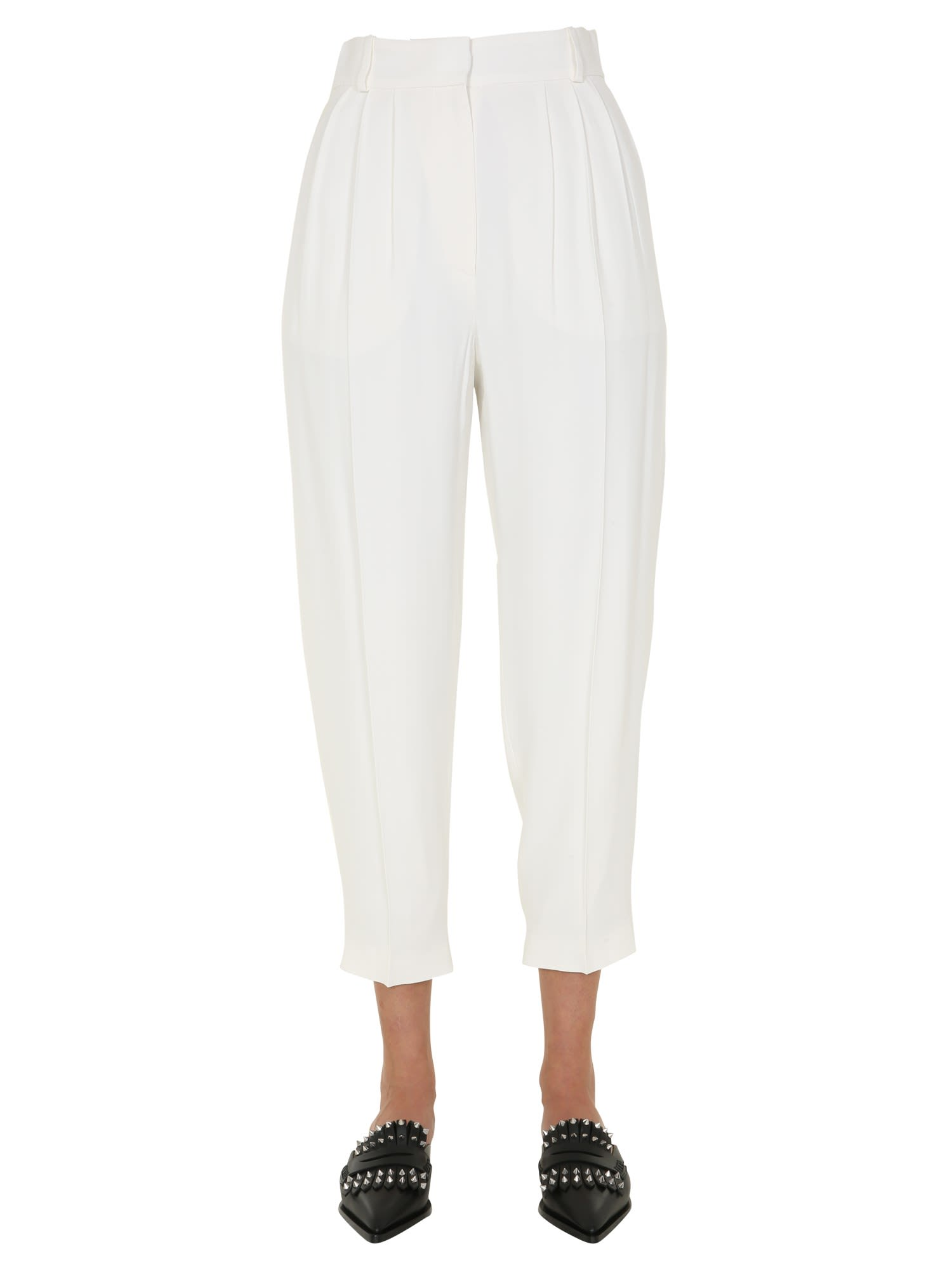 Alexander McQueen Pants With Pinces