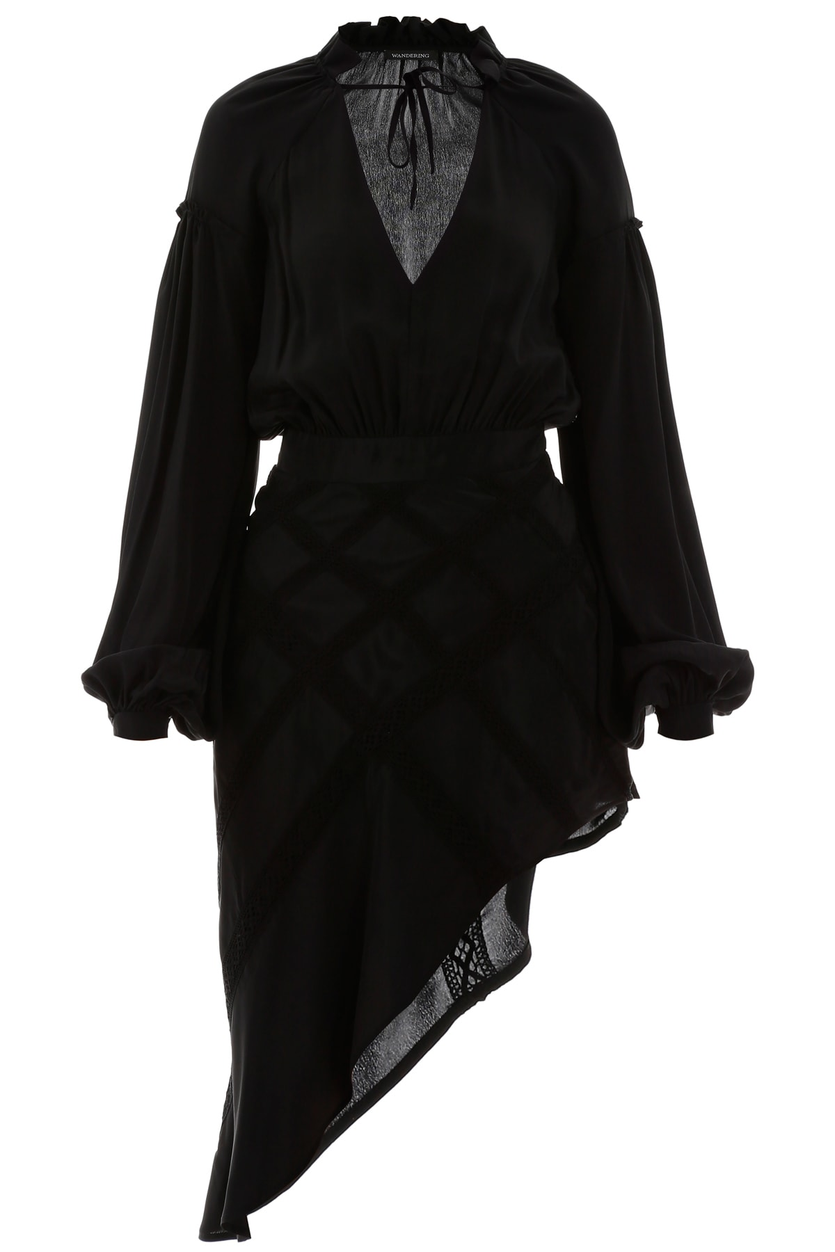 Buy WANDERING Asymmetric Dress online, shop WANDERING with free shipping