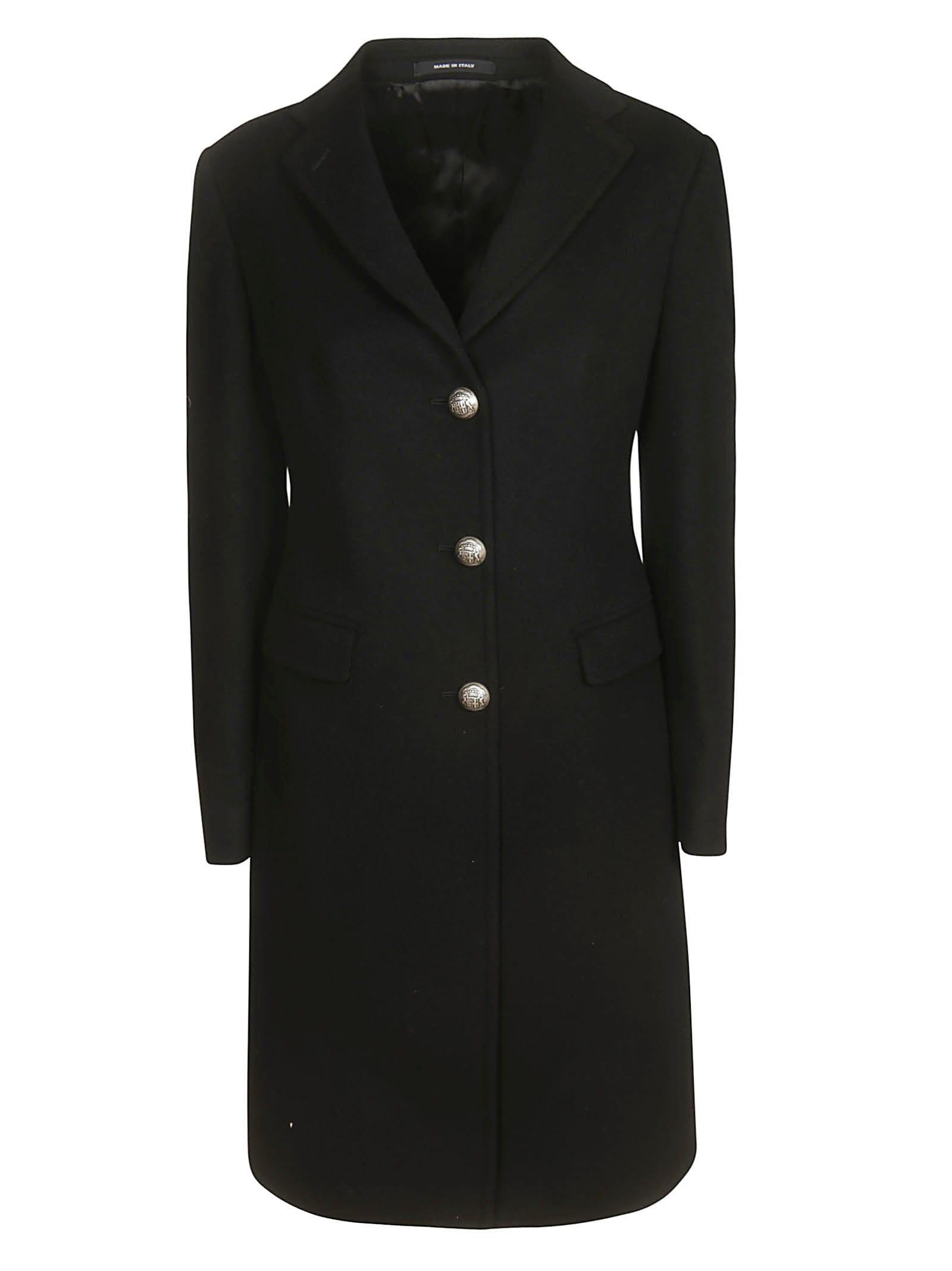 Tagliatore Buttoned Coat
