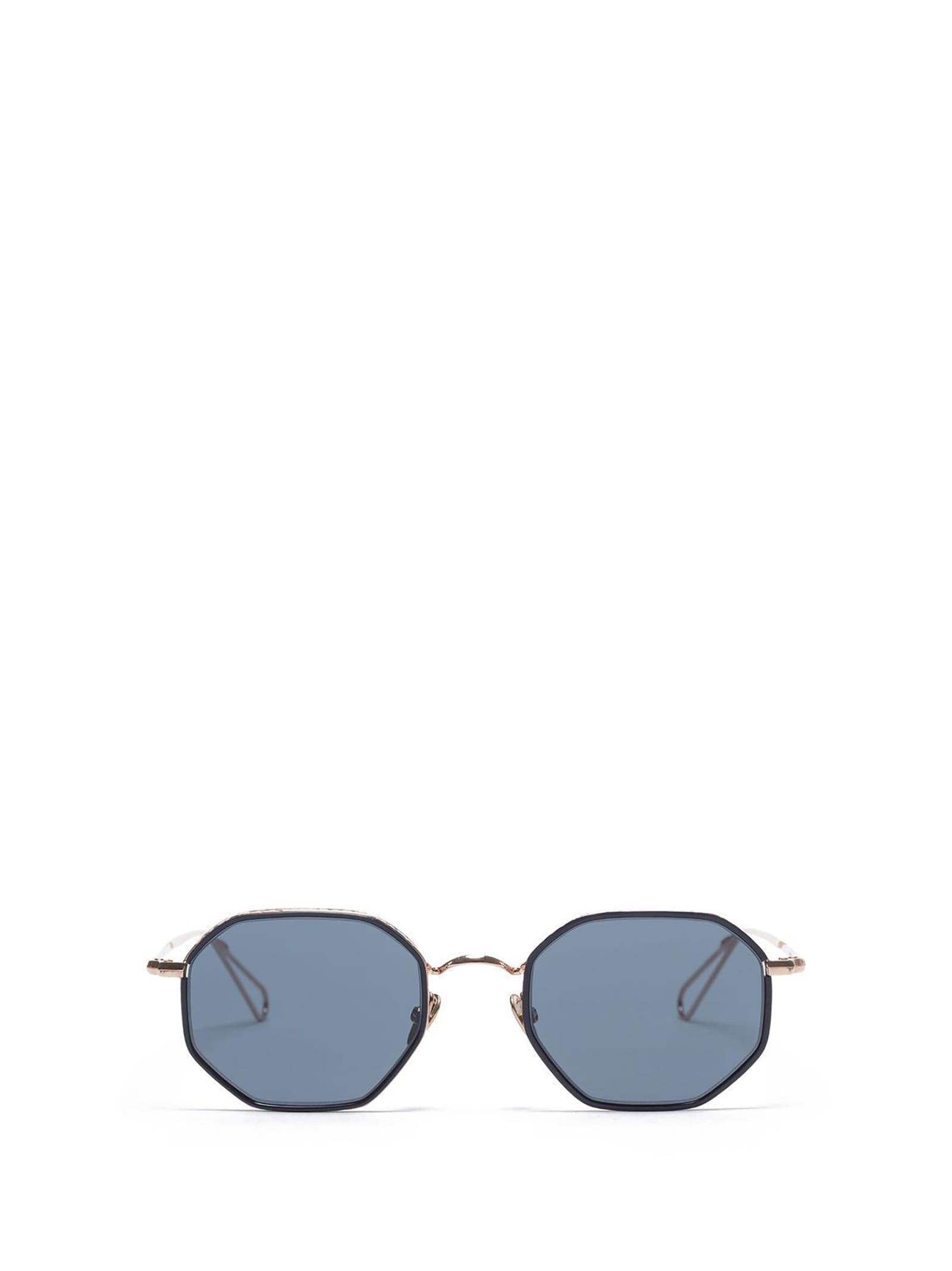 AHLEM Ahlem Luxembourg Peony Gold Blue Windsor Sunglasses