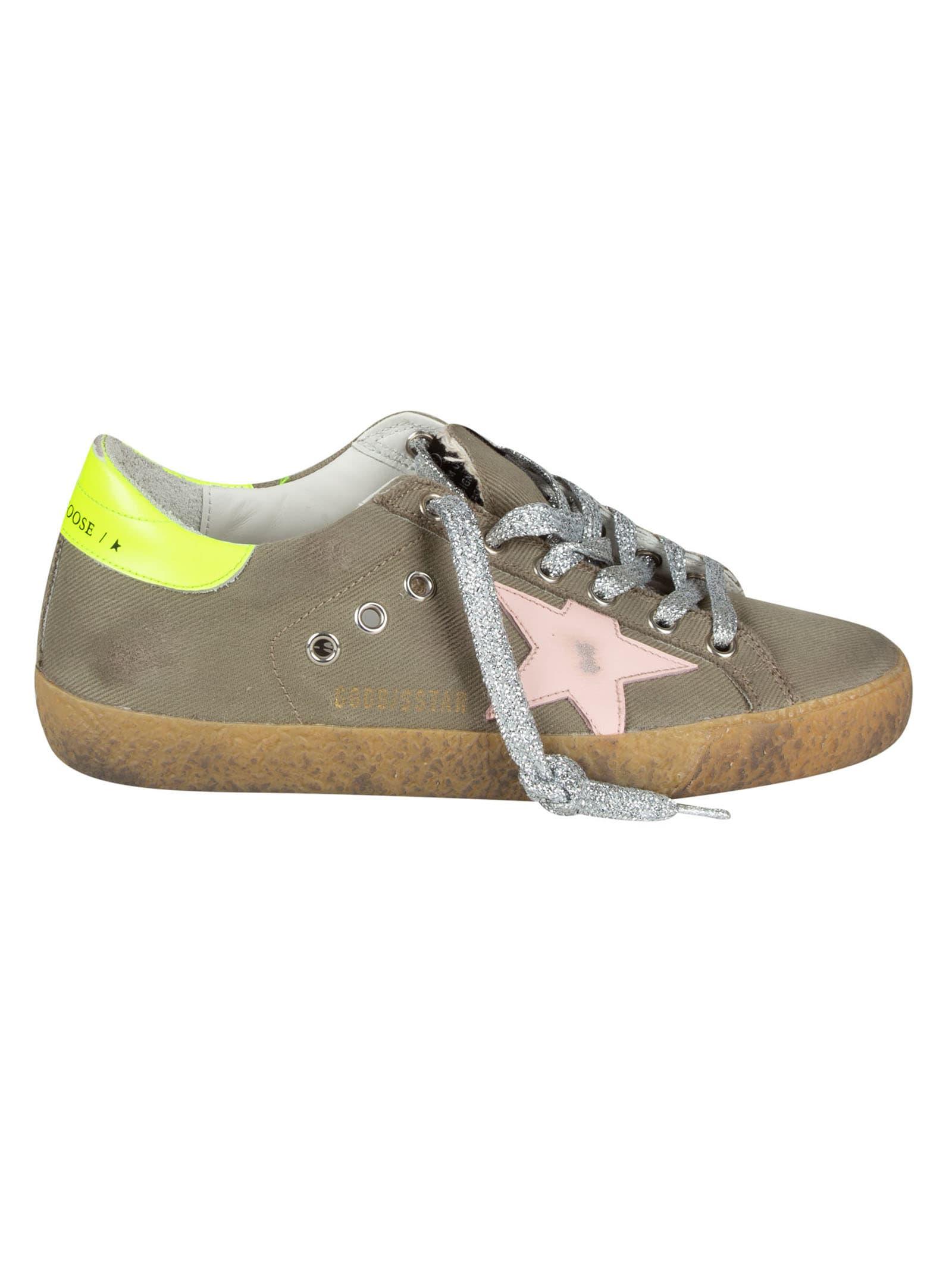 Golden Goose Super-star Classic W/ List Sneakers
