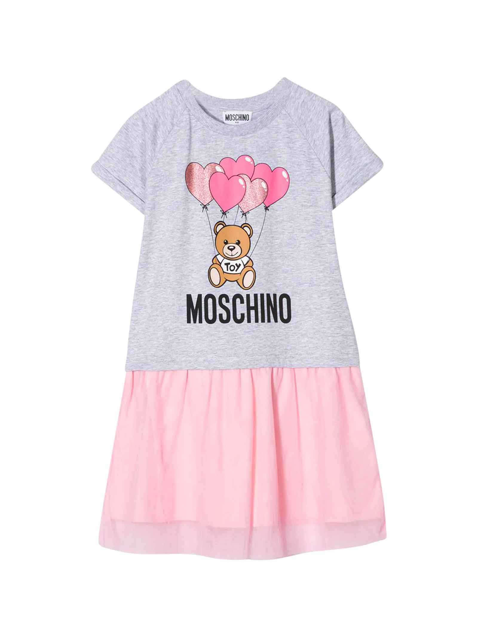 Buy Moschino Gray Dress online, shop Moschino with free shipping