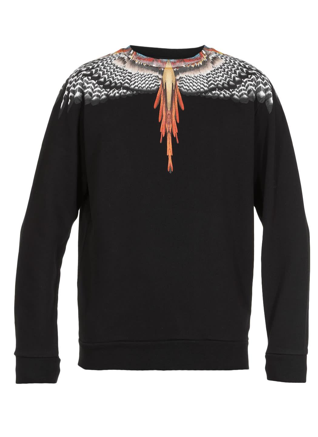 Marcelo Burlon County Of Milan Cottons WINGS SWEATSHIRT