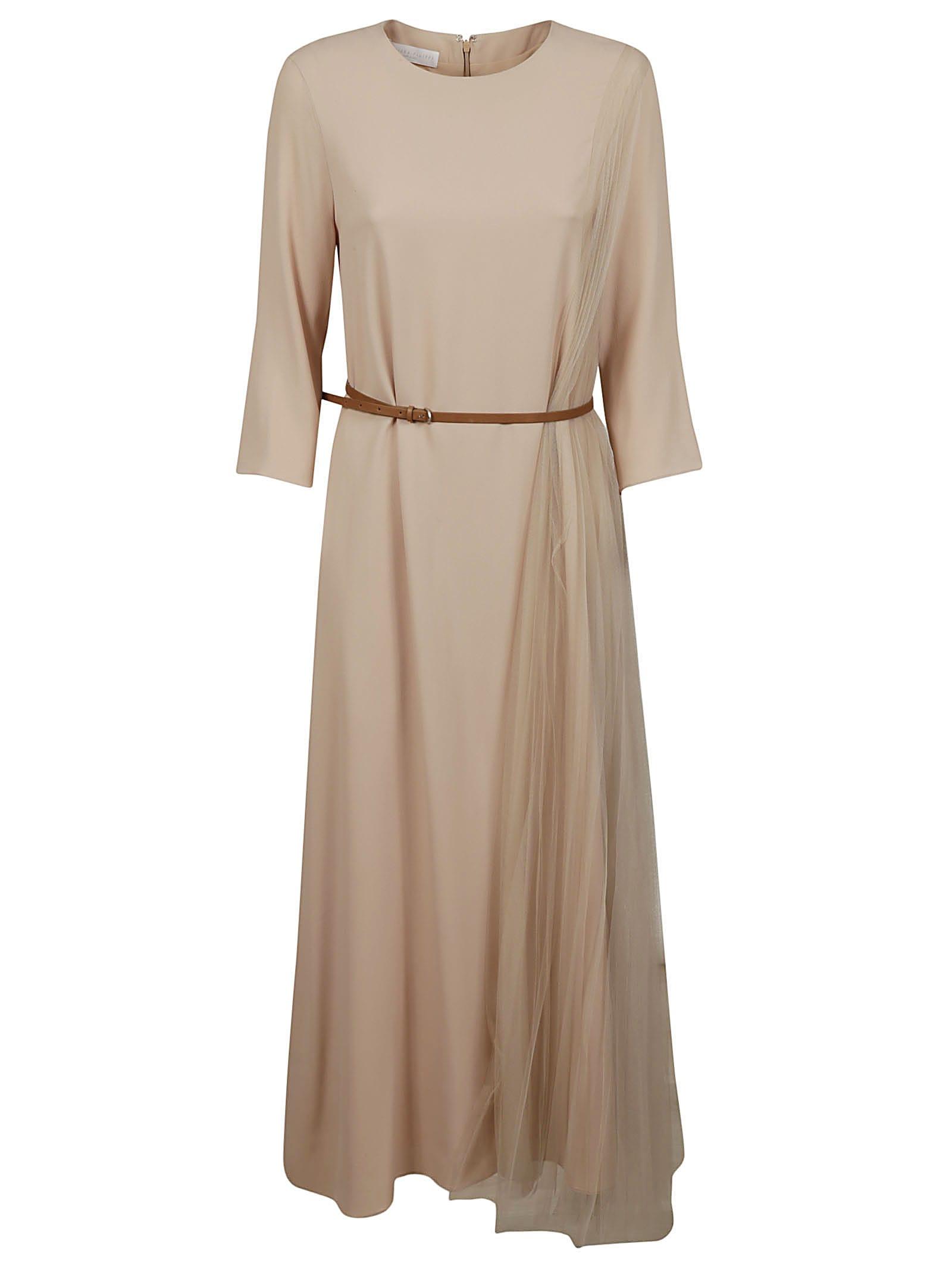 Buy Fabiana Filippi Belted Maxi Dress online, shop Fabiana Filippi with free shipping