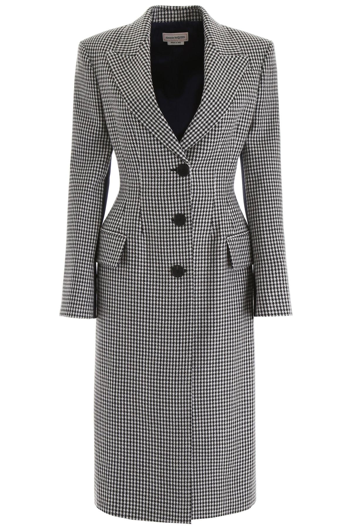 Alexander McQueen Houndstooth Coat