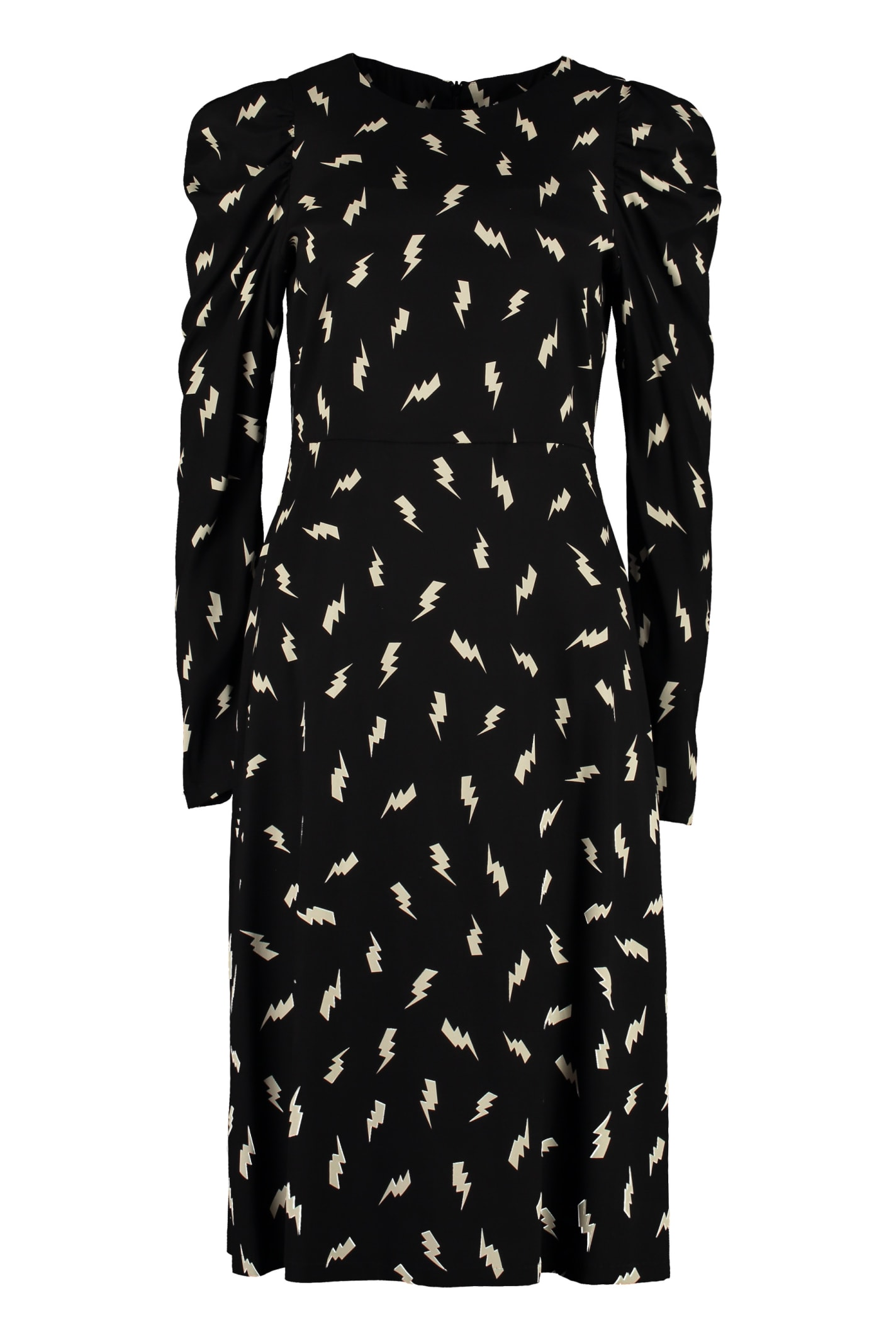 Photo of  Parosh Printed Silk Dress- shop Parosh  online sales