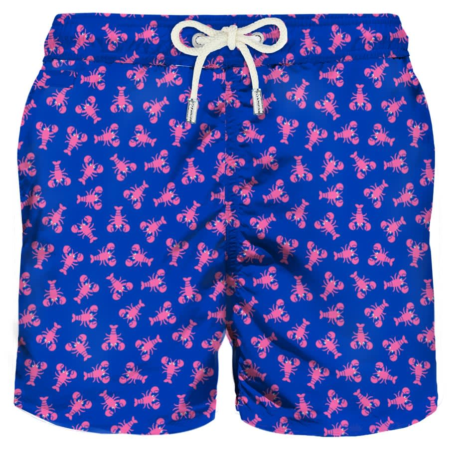 Micro Lobsters Light Fabric Swim Shorts
