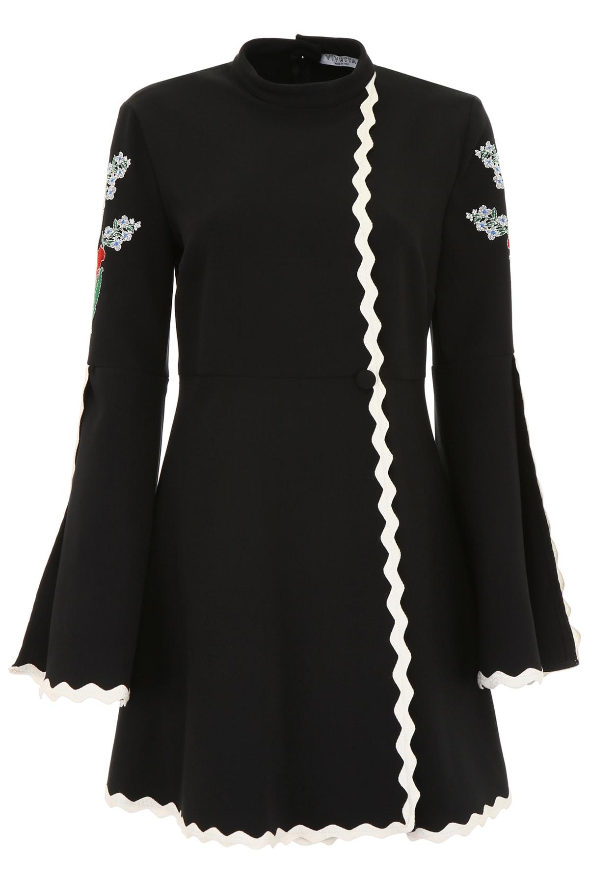 Photo of  Vivetta Embroidered Isabey Dress- shop Vivetta  online sales