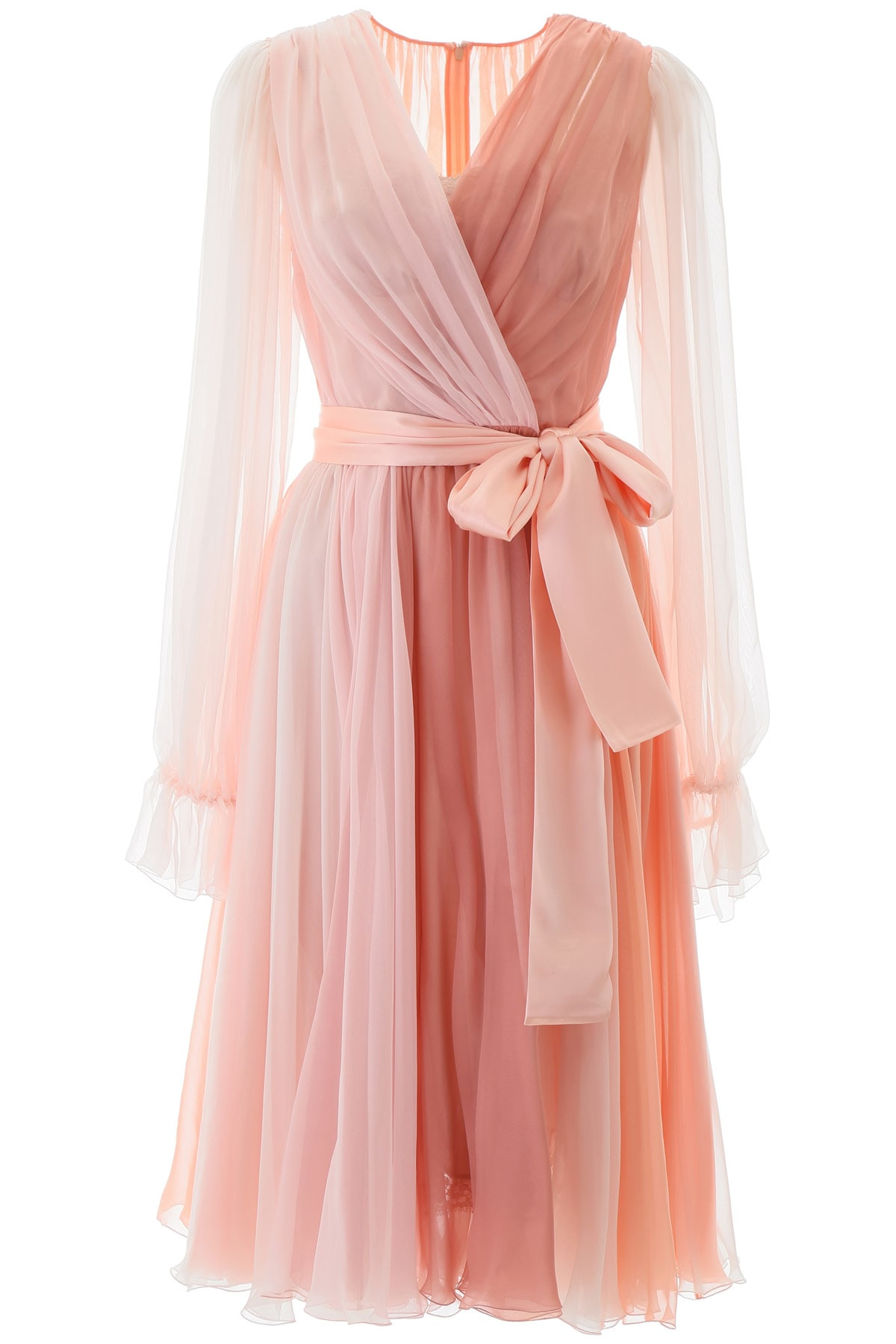 Buy Dolce & Gabbana Chiffon Shaded Dress online, shop Dolce & Gabbana with free shipping