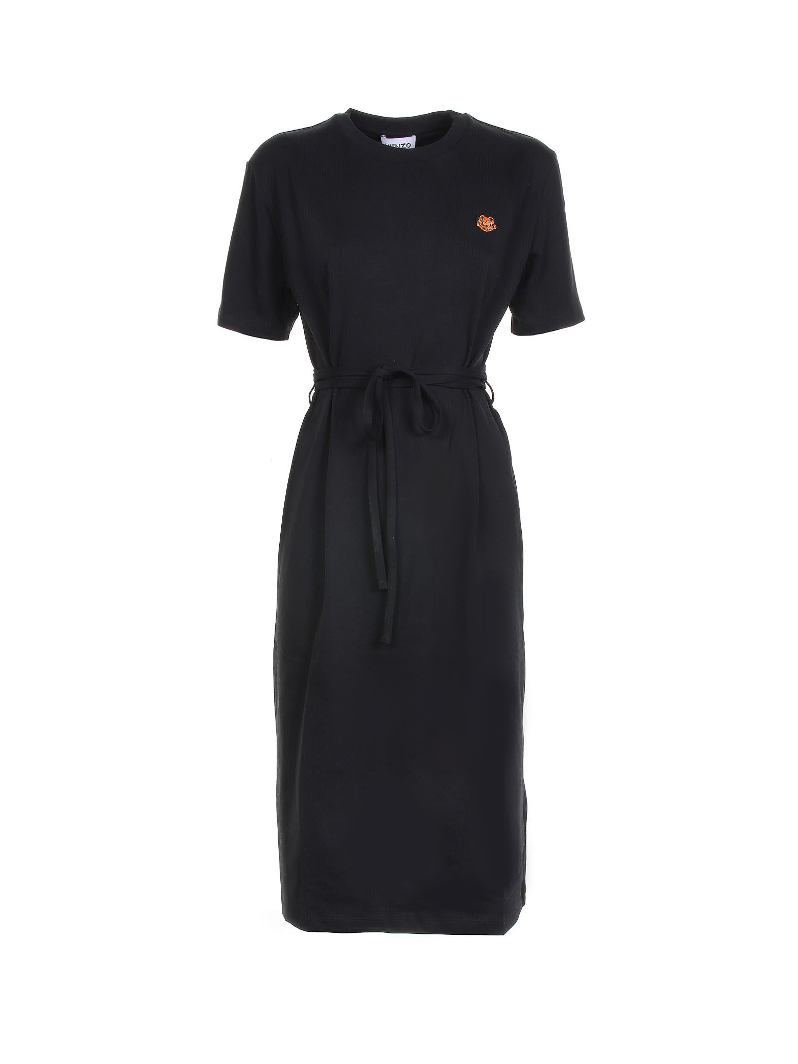 Buy Kenzo Kenzo Tiger Crest T-shirt Dress online, shop Kenzo with free shipping