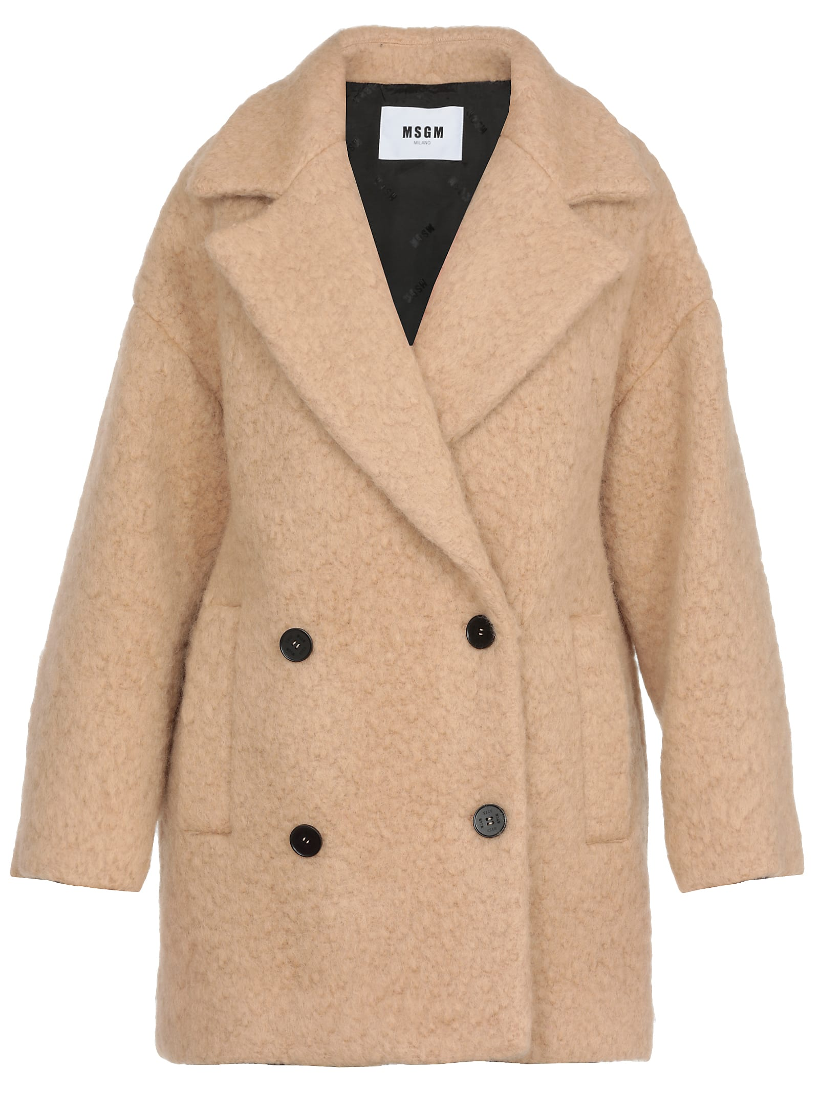 MSGM Oversize Double Breasted Coat