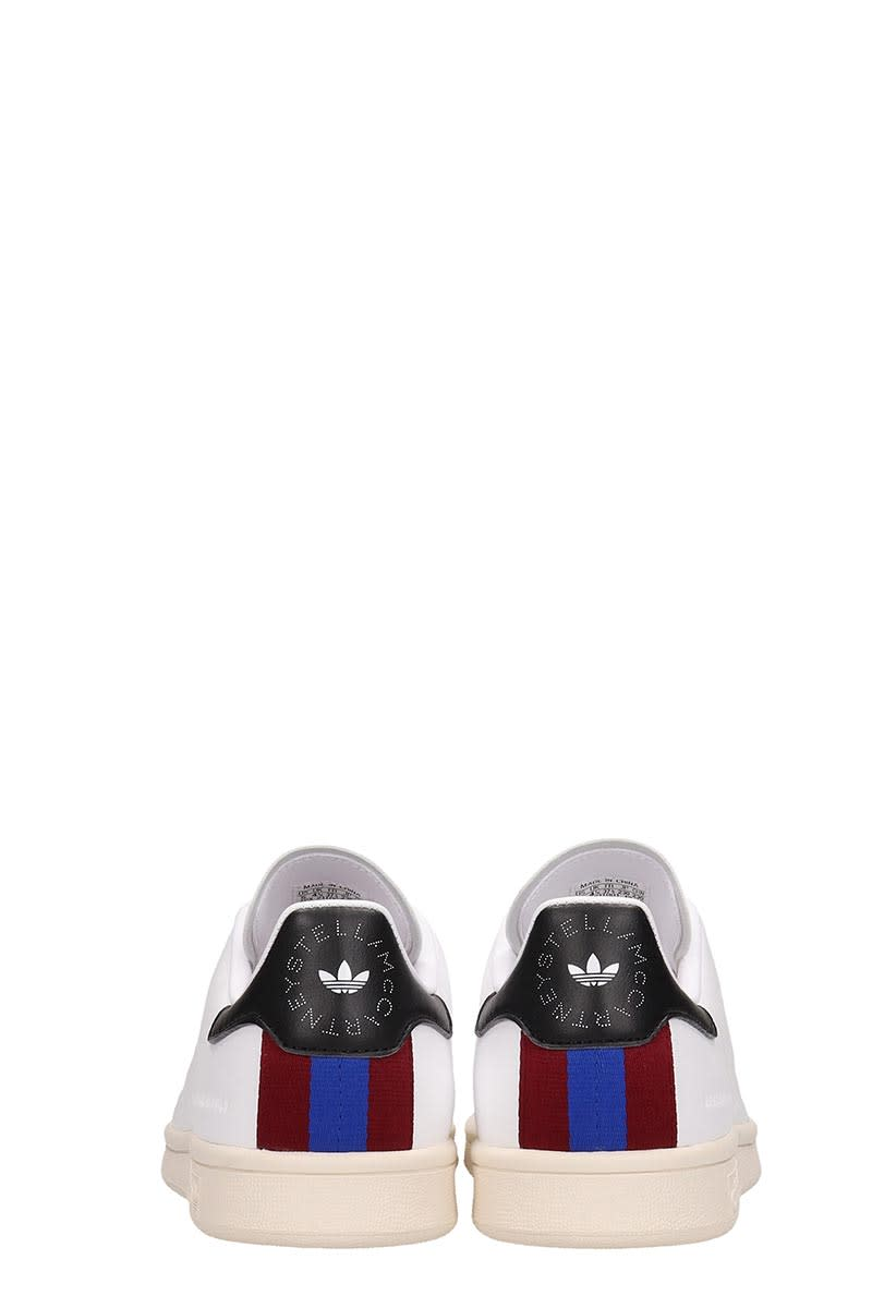 newest collection 8d70e 55059 Adidas by Stella McCartney White Leather Stan Smith Sneakers Stella  Mccartney Collaboration