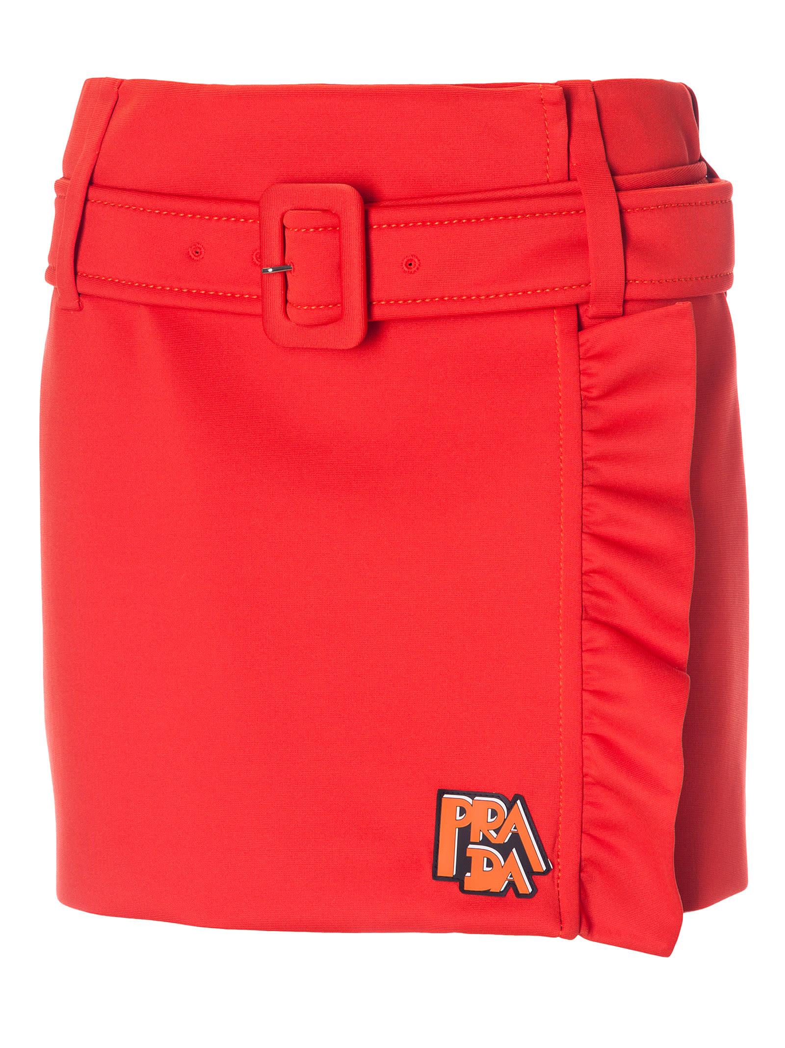 Prada Skirts Prada Logo Skirt