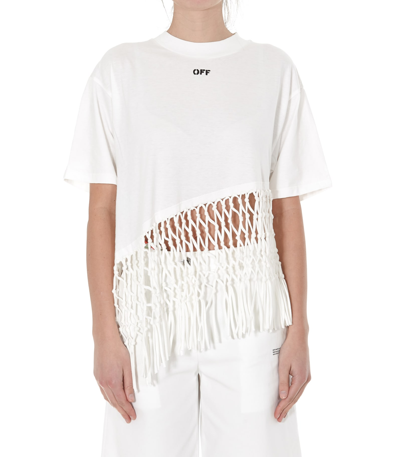 Off-white Asymmetrical T-shirt