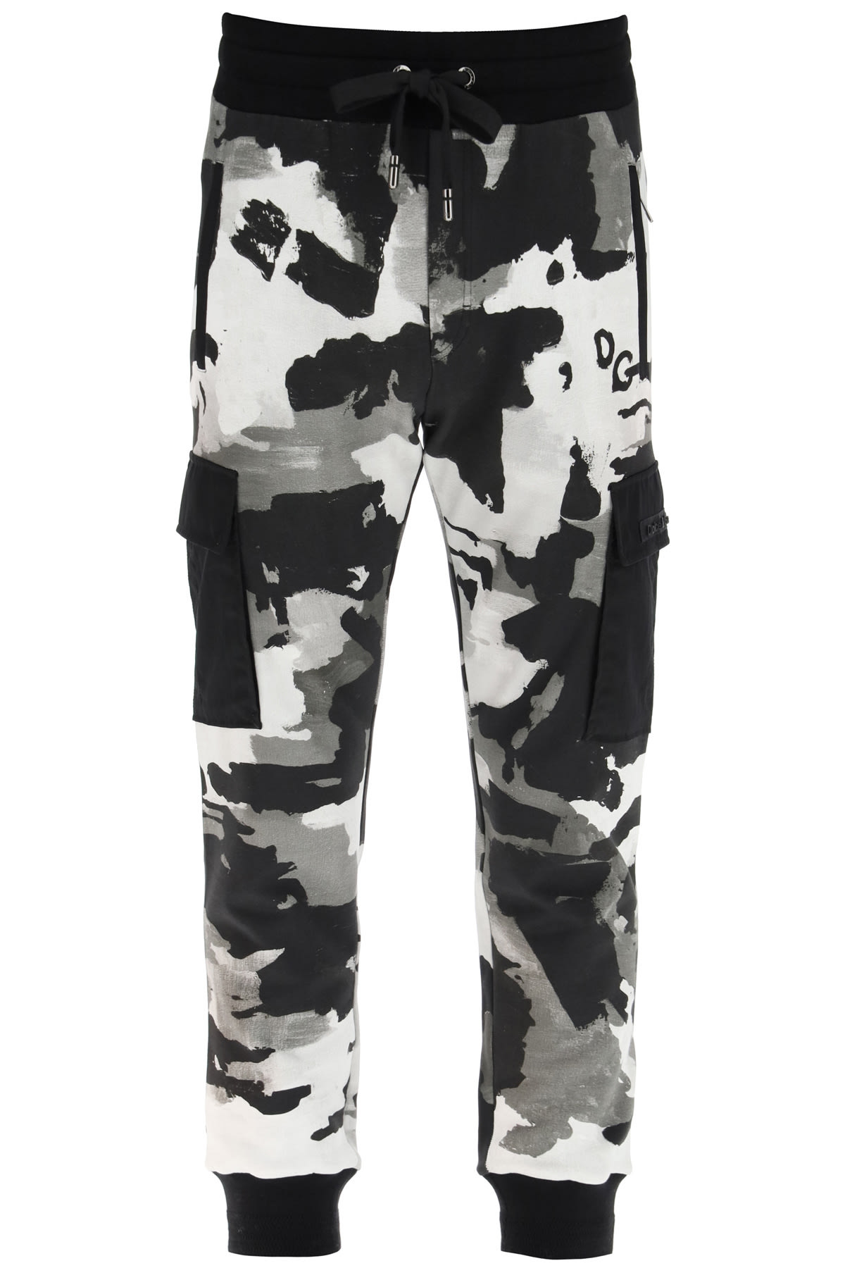 Dolce & Gabbana CAMOUFLAGE JOGGING TROUSERS