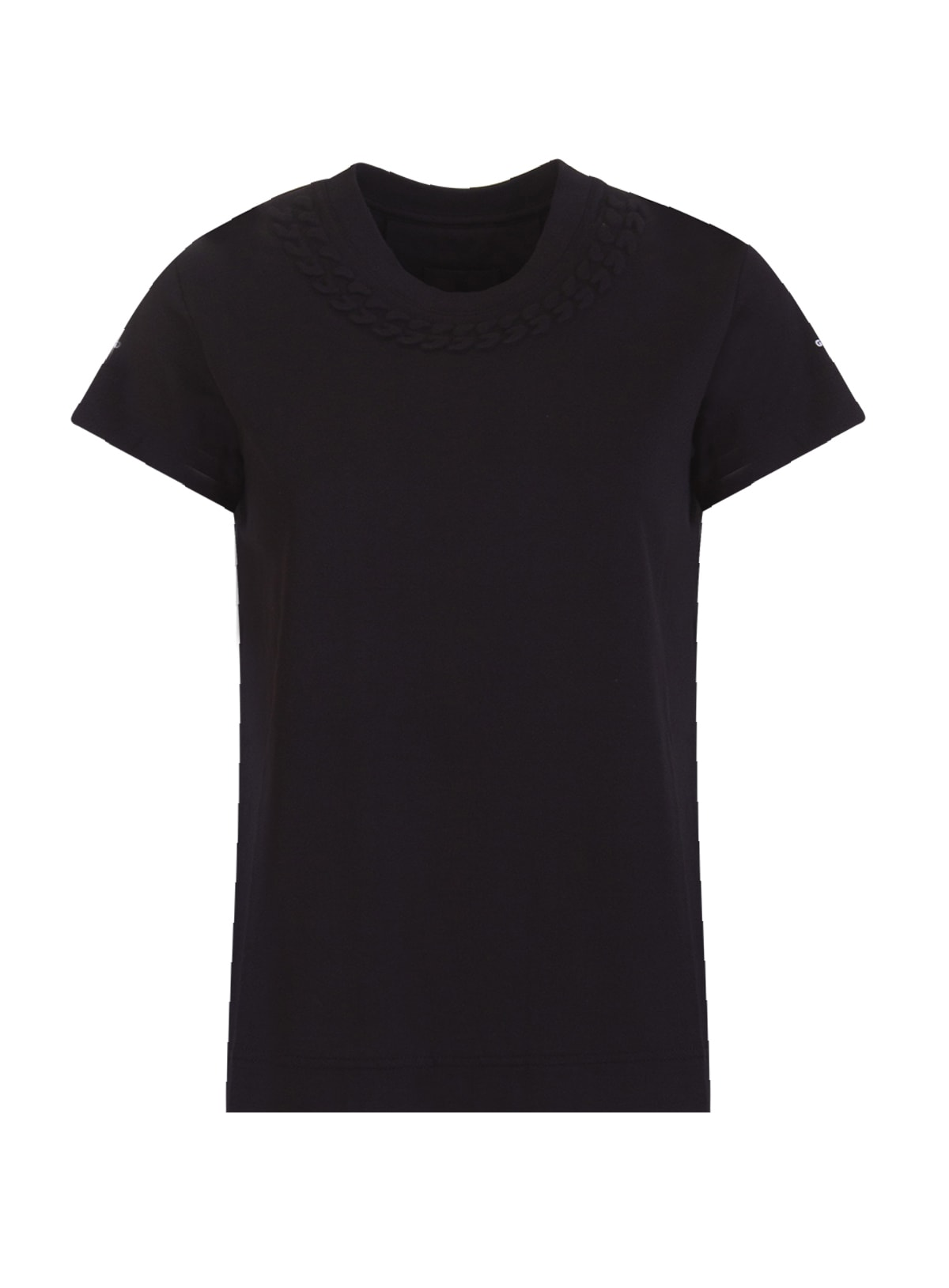 Givenchy Cottons EMBOSSED JERSEY T-SHIRT