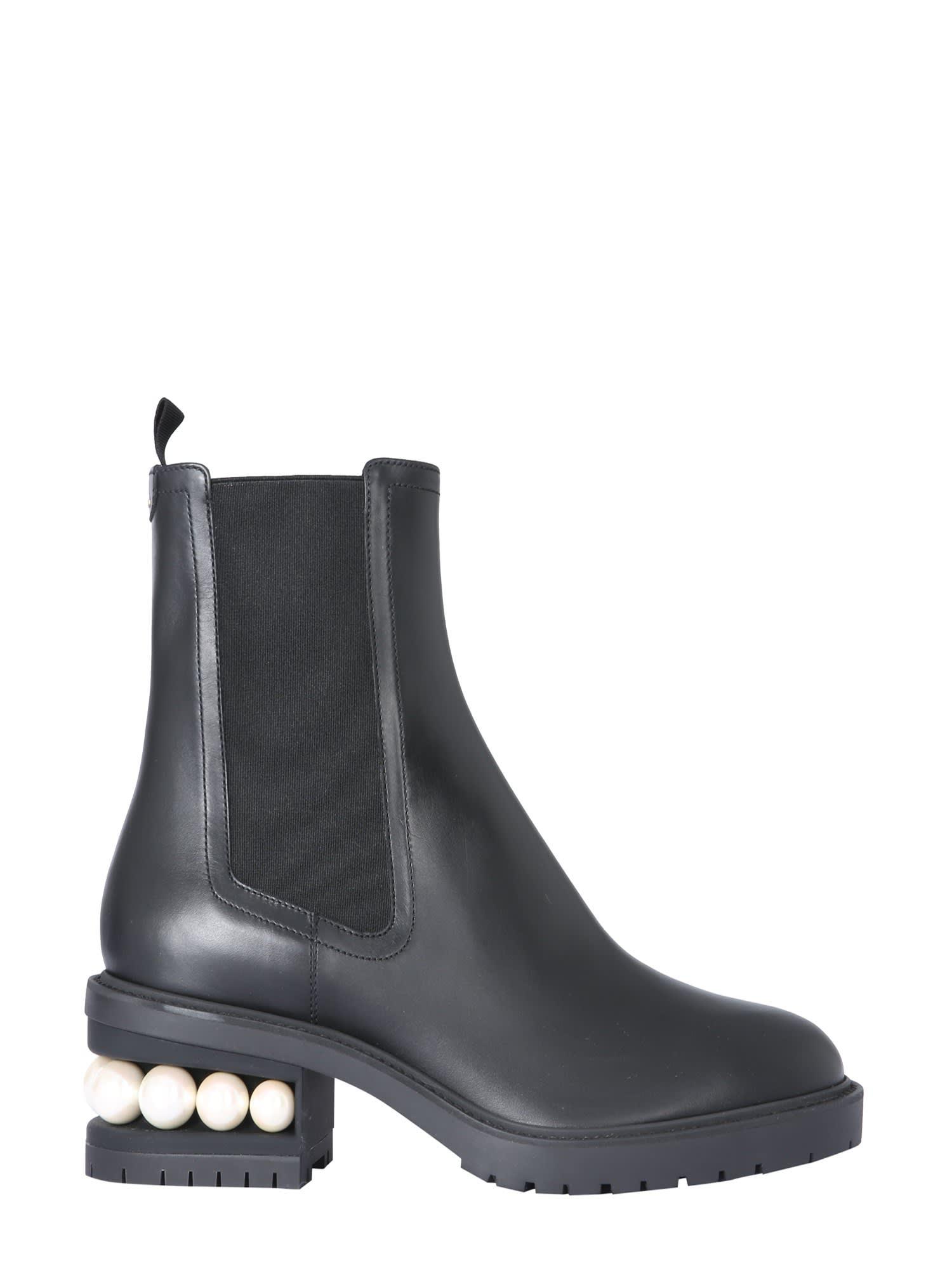 Buy Nicholas Kirkwood Casati Chelsea Boots online, shop Nicholas Kirkwood shoes with free shipping