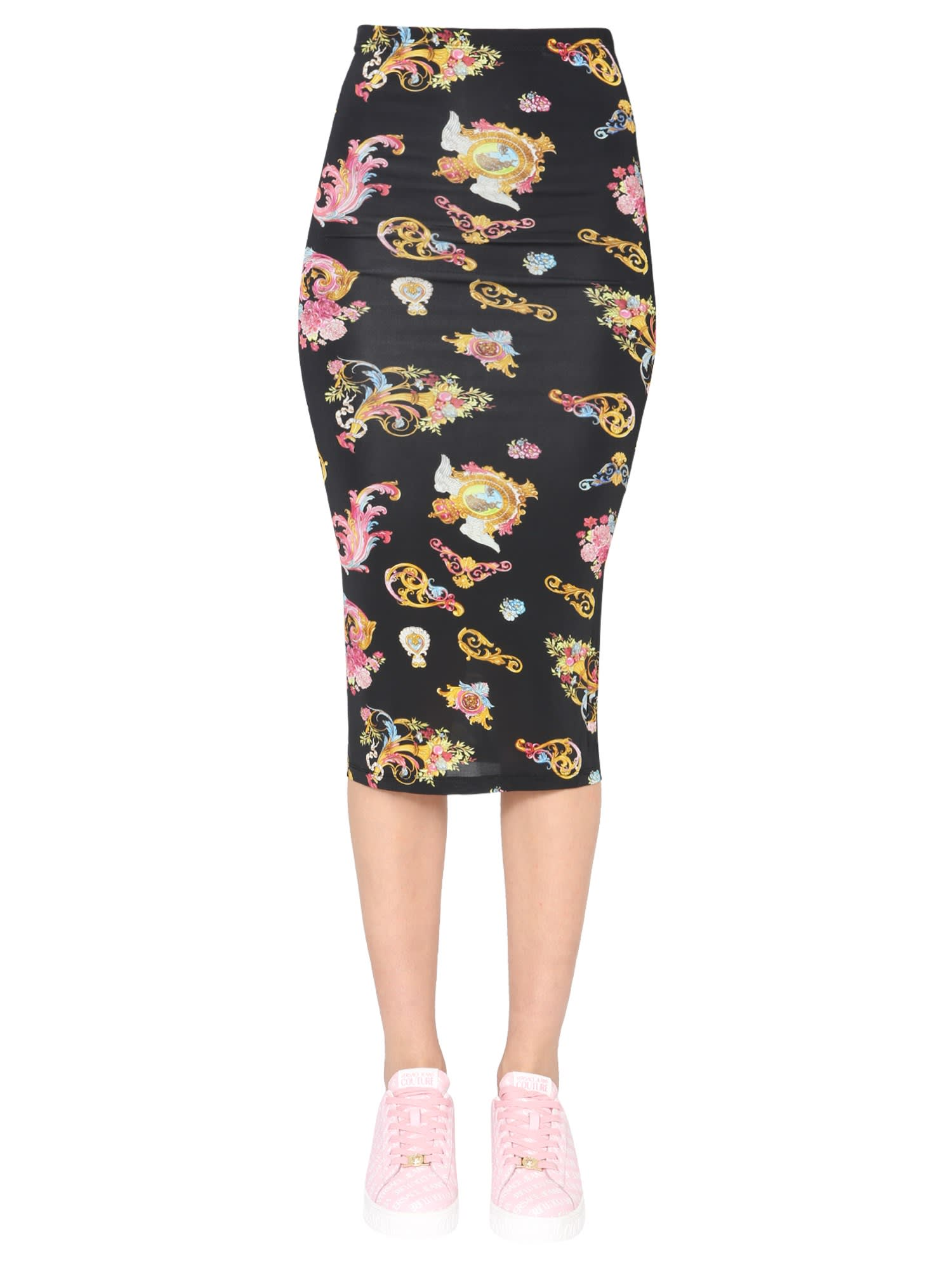 Versace Jeans Couture Pencil skirts MIDI SKIRT