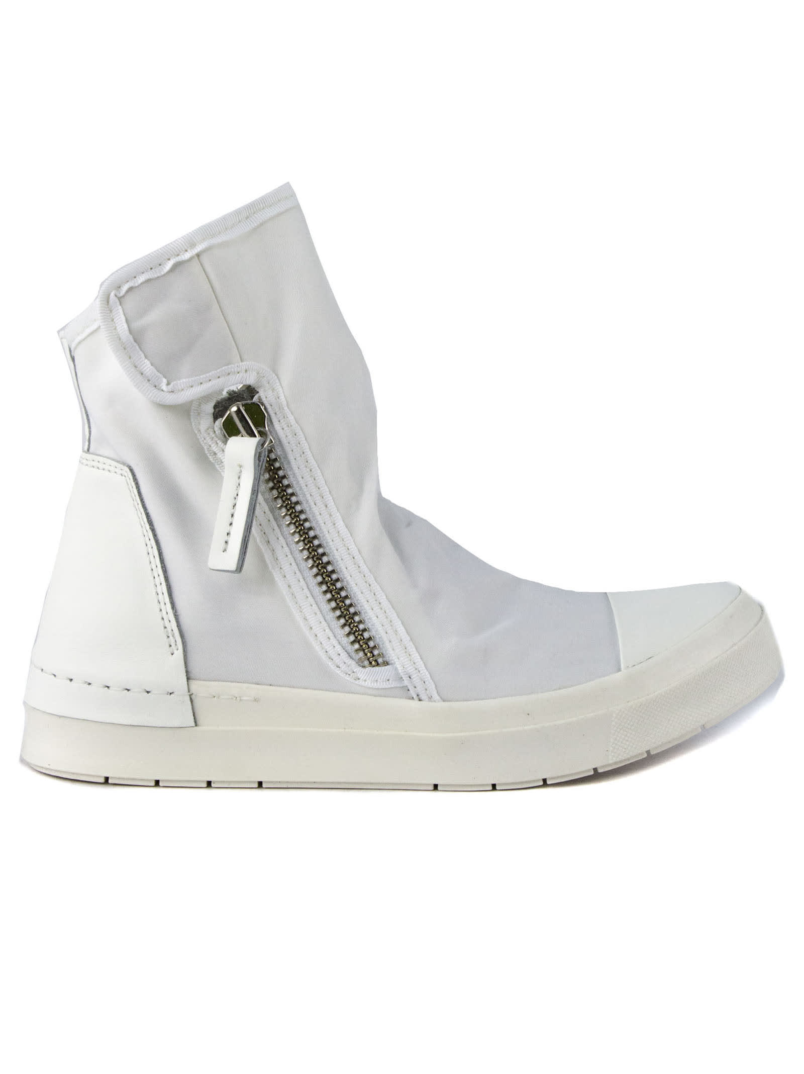 High-top Sneaker In White