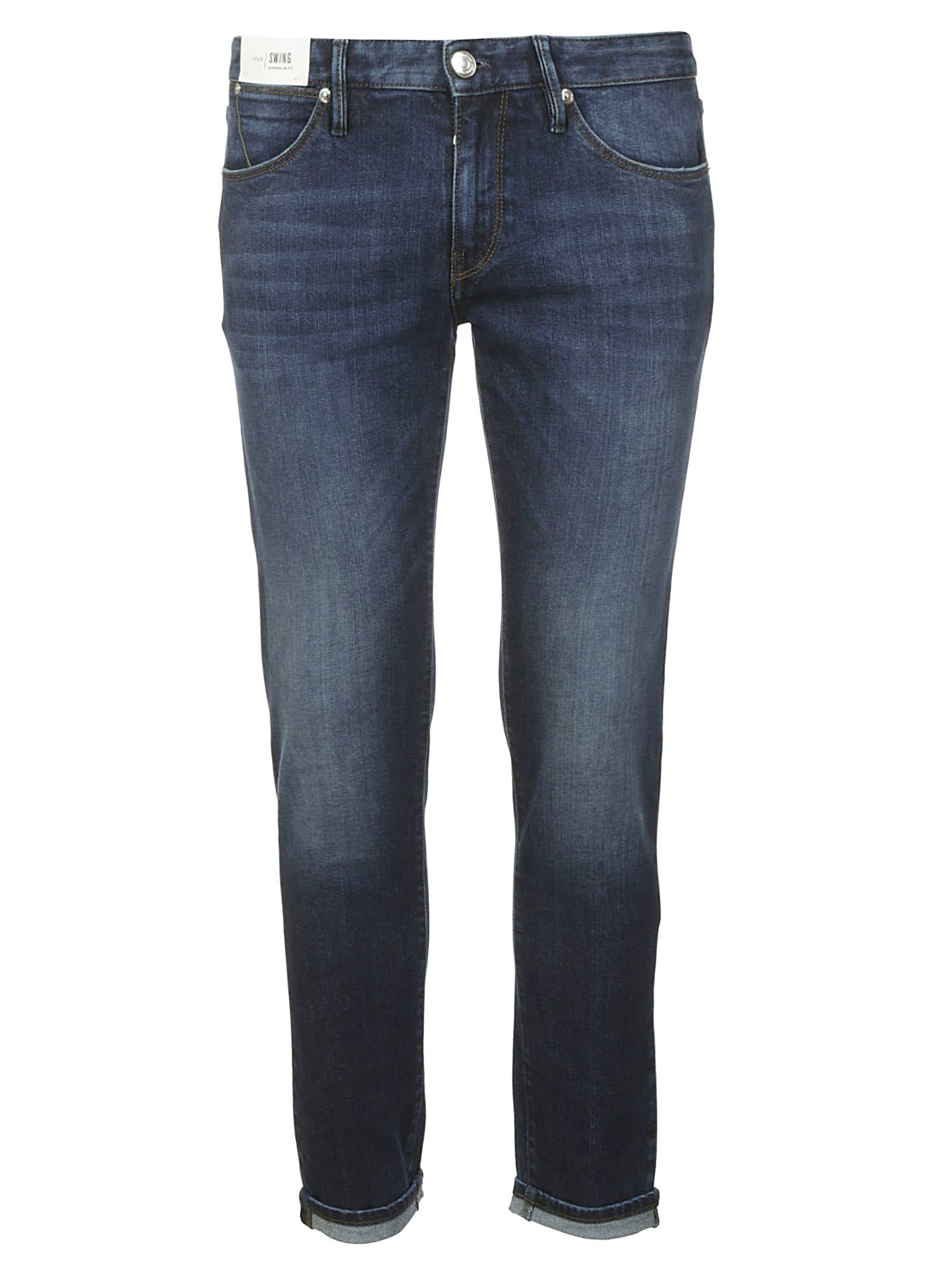 PT01 Fitted Waist Jeans