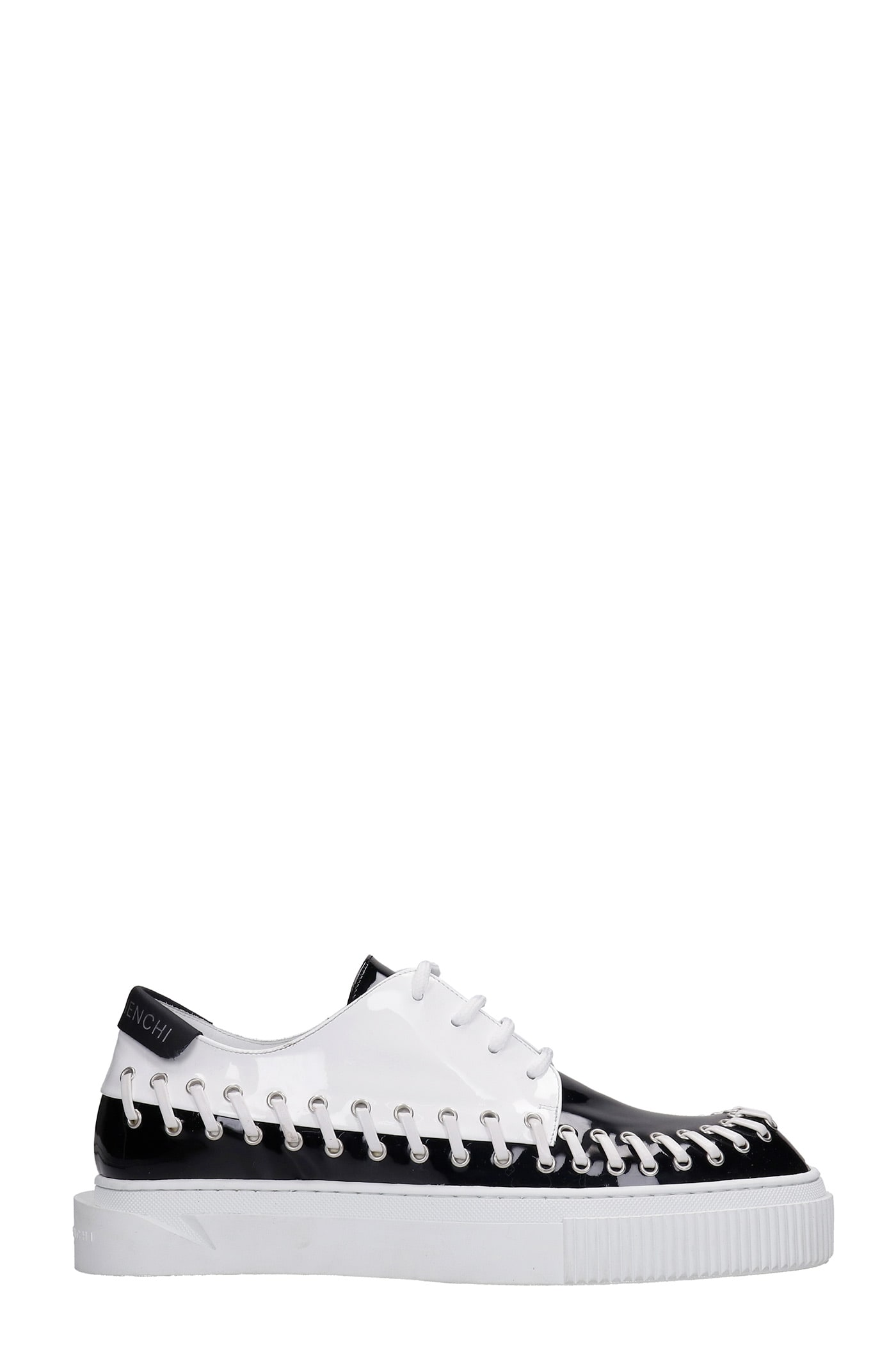 Brooklyn Sneakers In Black Patent Leather