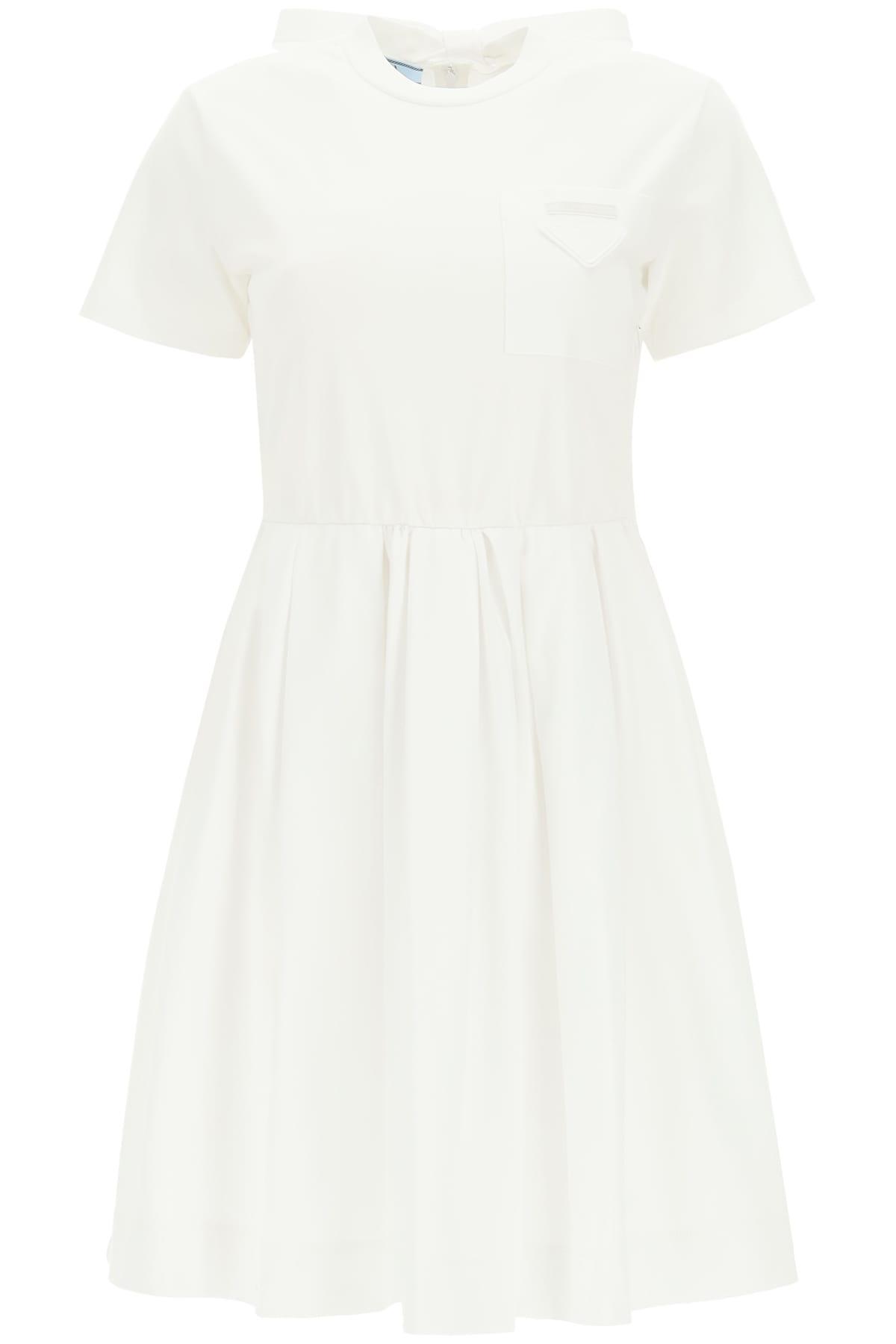 Prada Cotton Jersey Dress