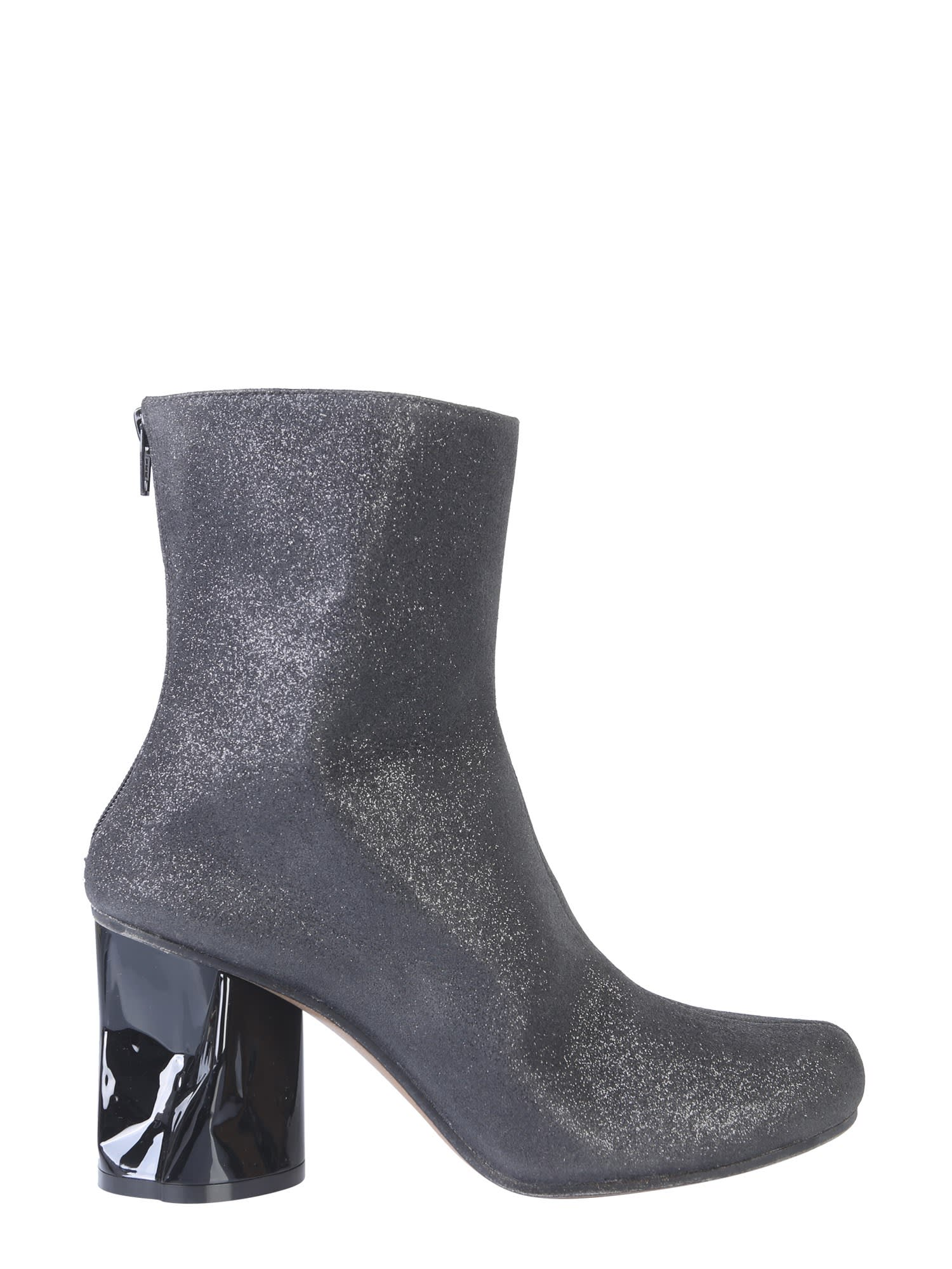 Buy Maison Margiela Boot With Crushed Heel online, shop Maison Margiela shoes with free shipping