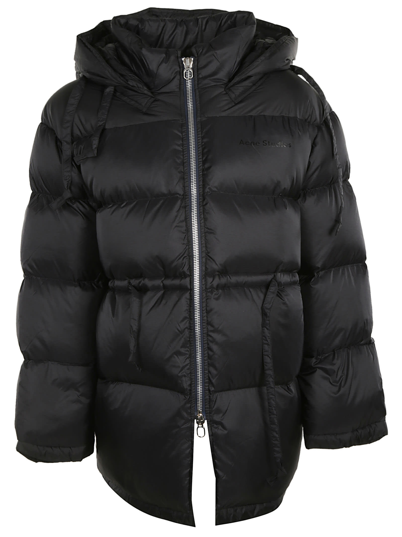 Acne Studios Concealed Drawstring Hooded Padded Jacket