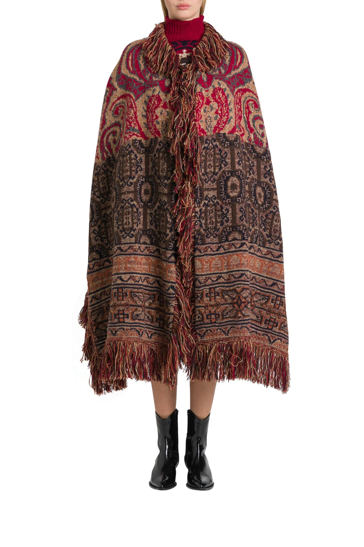 Photo of  Etro Torbay Poncho- shop Etro jackets online sales