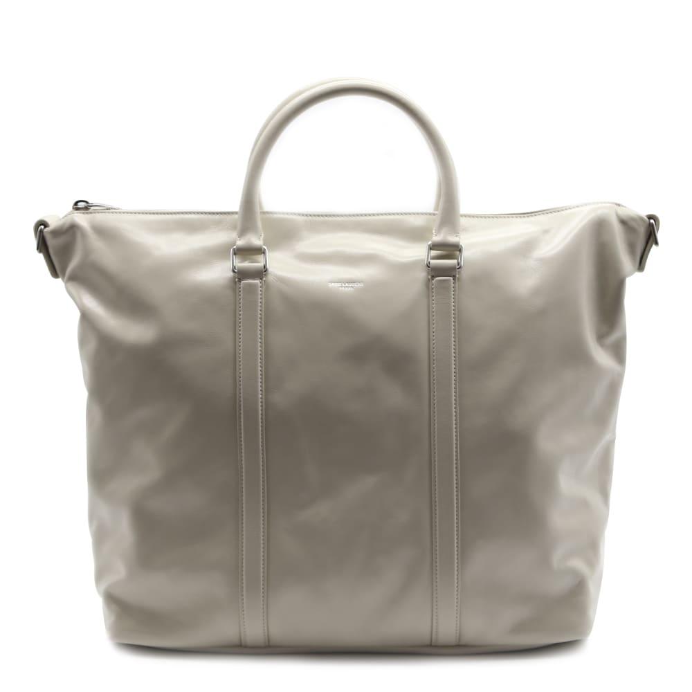 Saint Laurent Supple Bag Sac De Jour Cream In Leather