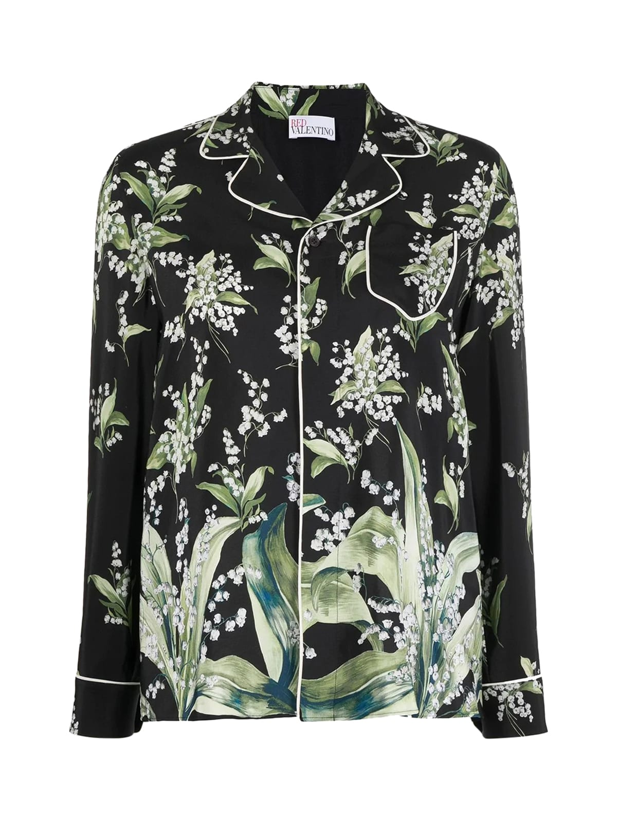 Red Valentino L/S ST. MAY LILY SHIRT