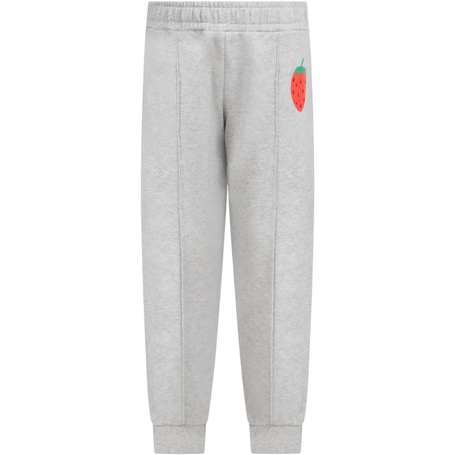 Mini Rodini GRAY SWEATPANTS FOR KIDS