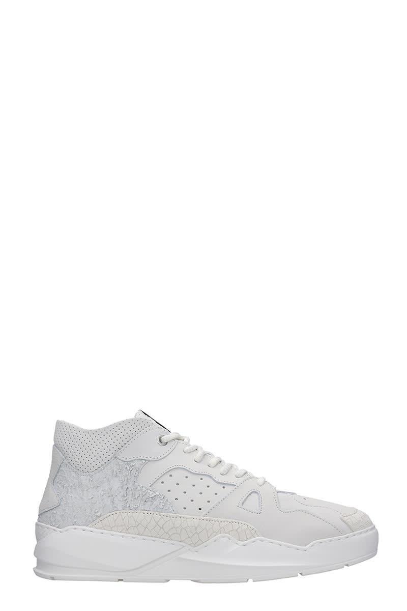 Filling Pieces Lay Up Ice Sneakers In White Leather