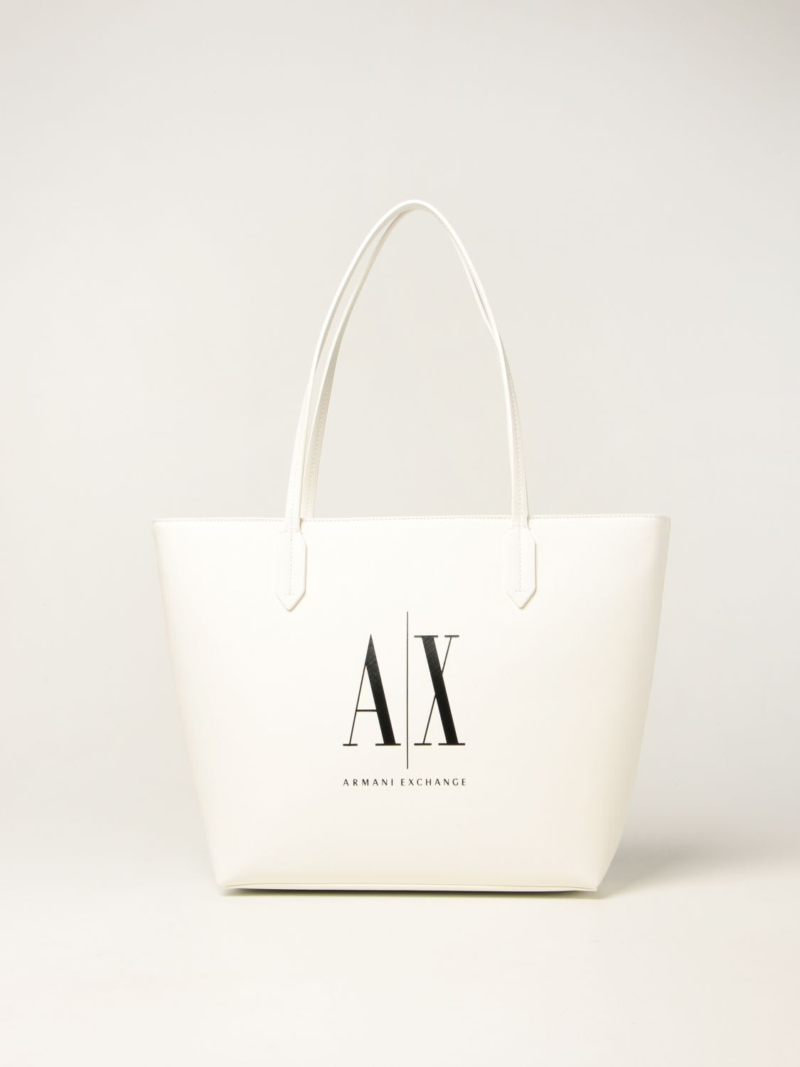 Armani Exchange Tote Bags Armani Exchange Crossbody Bag In Saffiano Synthetic Leather