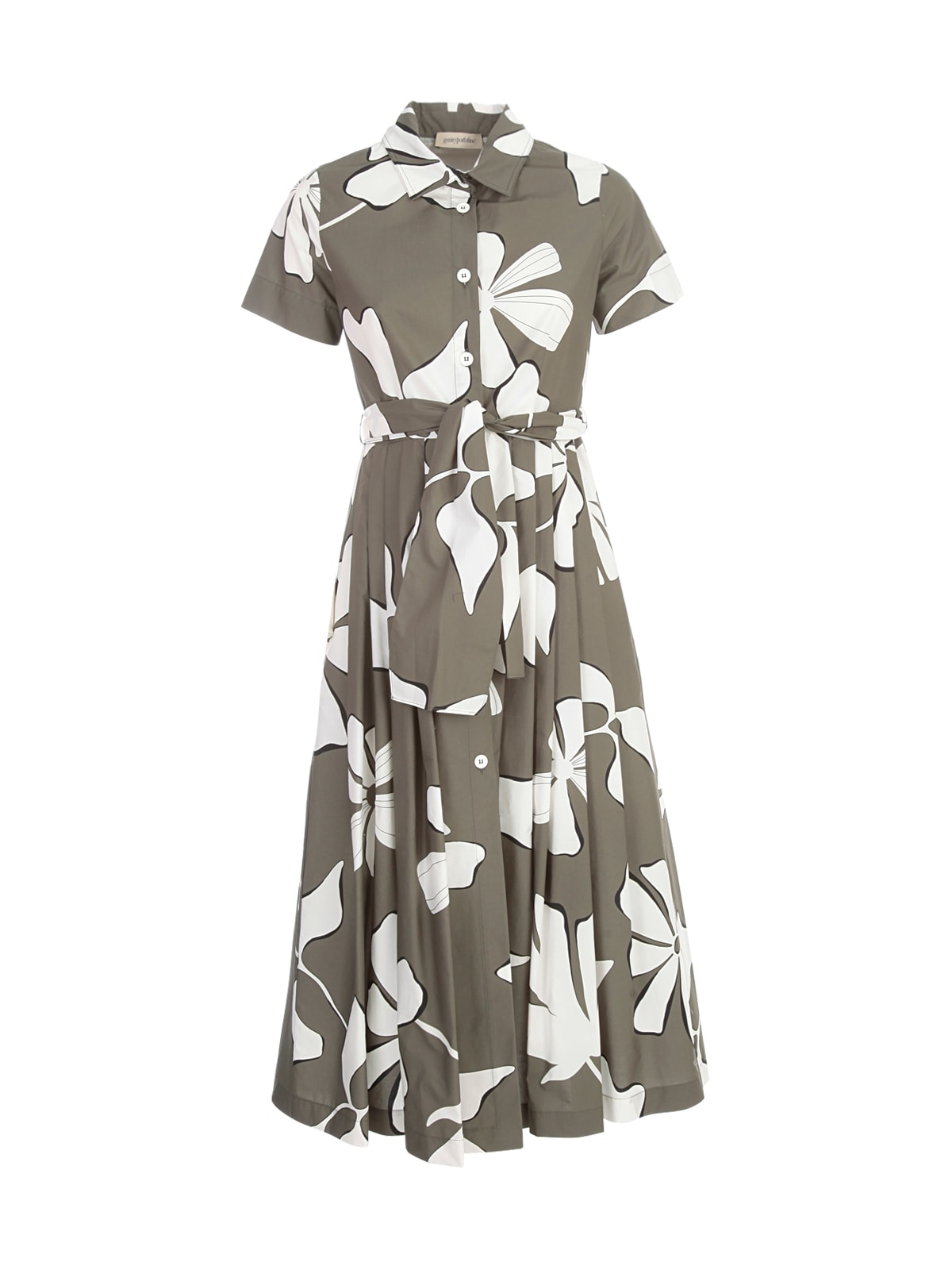 Buy Chemisier S/s Dress W/flowers Printing online, shop Gentry with free shipping