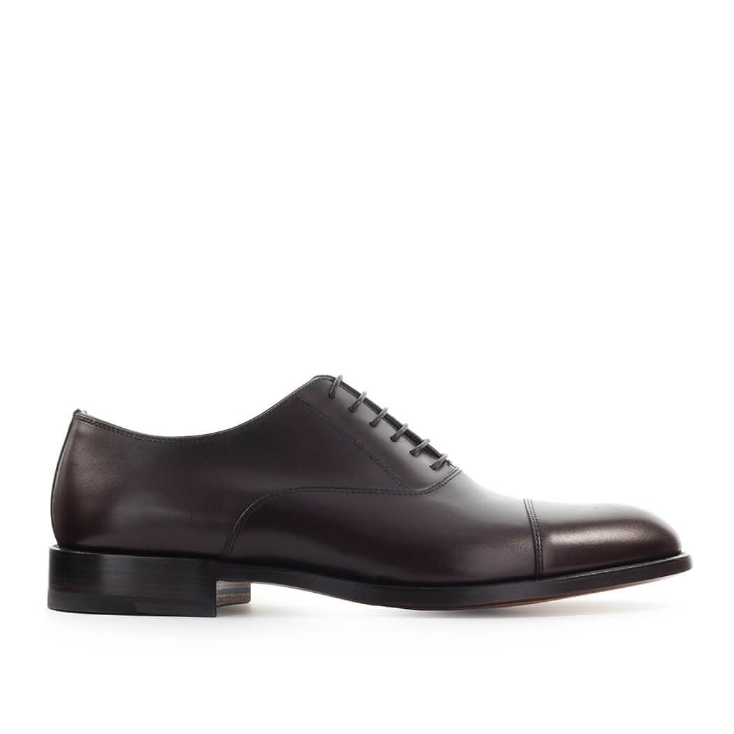 Dark Brown New York Oxford Lace Up Shoe