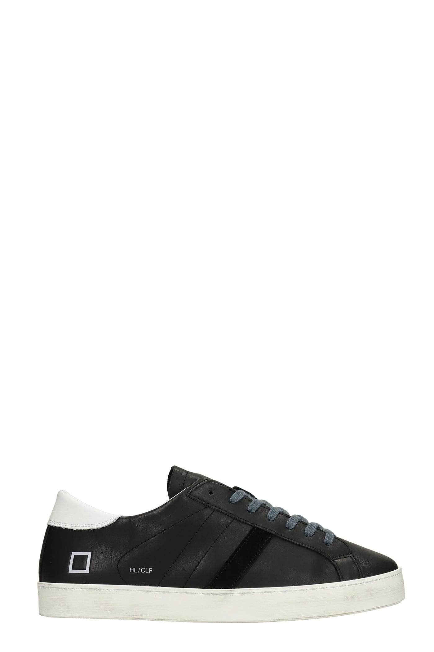 Hill Low Sneakers In Black Leather