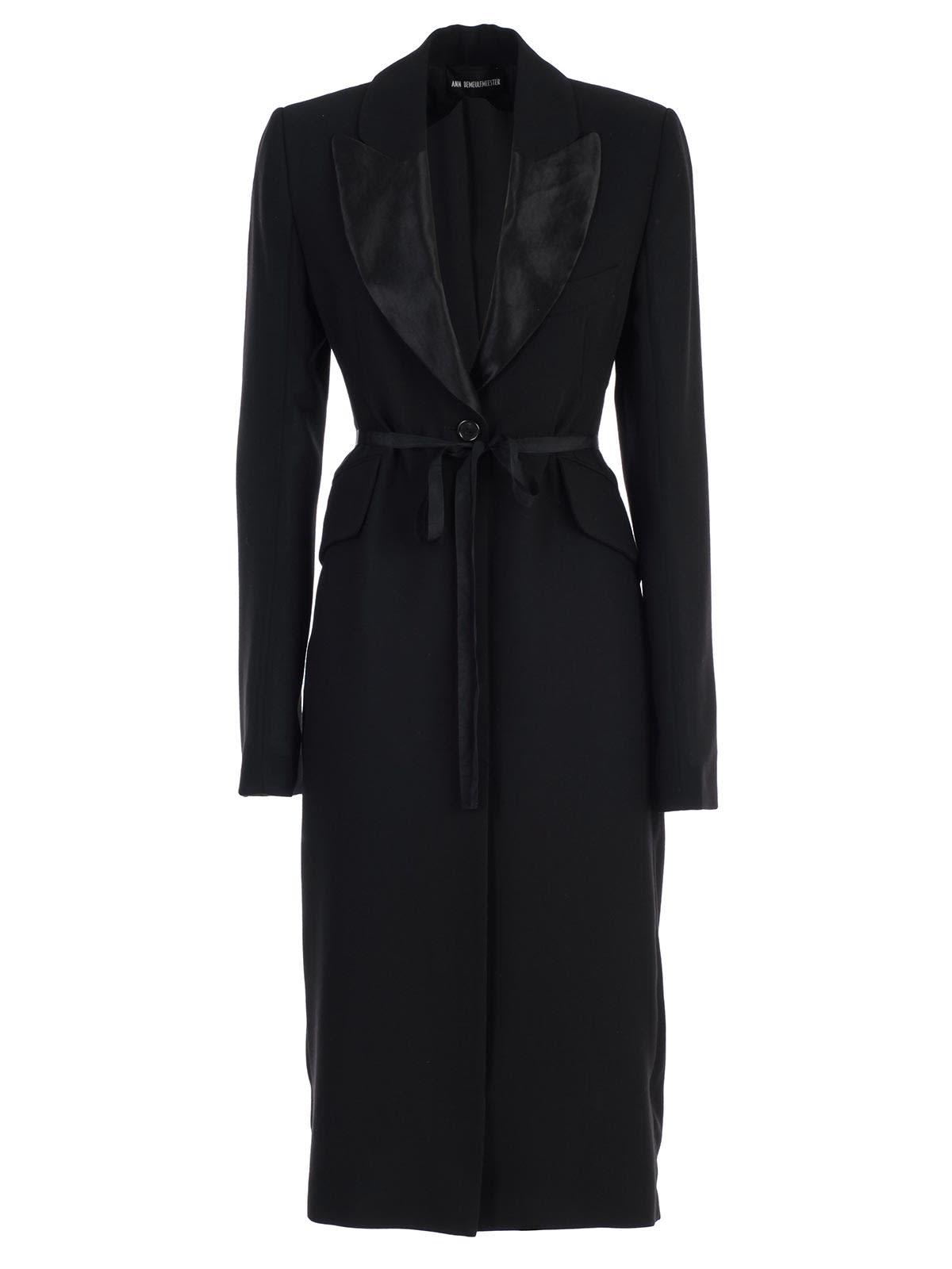 Ann Demeulemeester Oversized Sleeve Coat