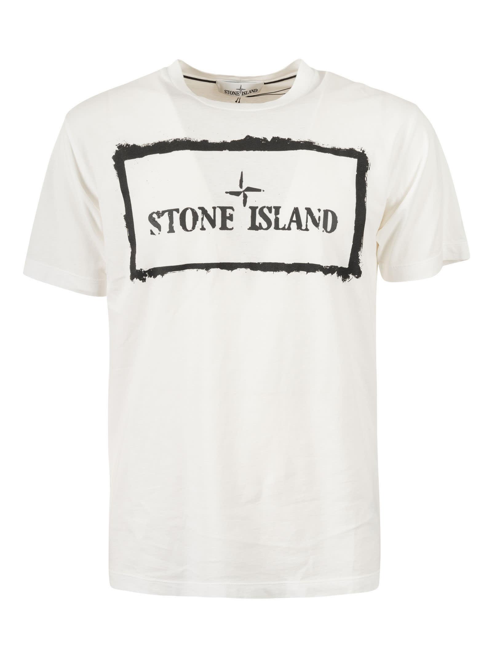 Stone Island REAR & FRONT LOGO T-SHIRT