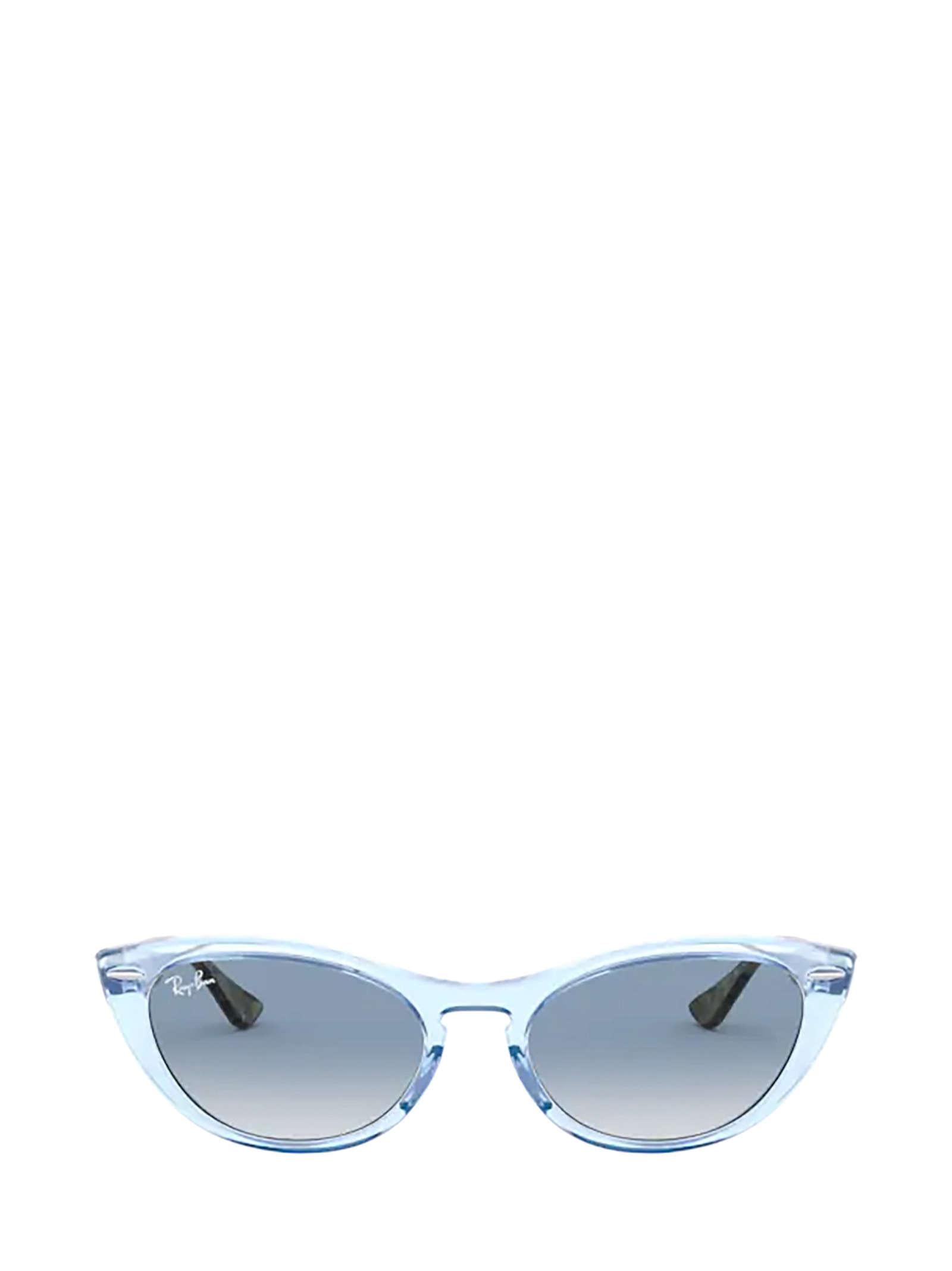 Ray-Ban Ray-ban Rb4314n Transparent Light Blue Sunglasses