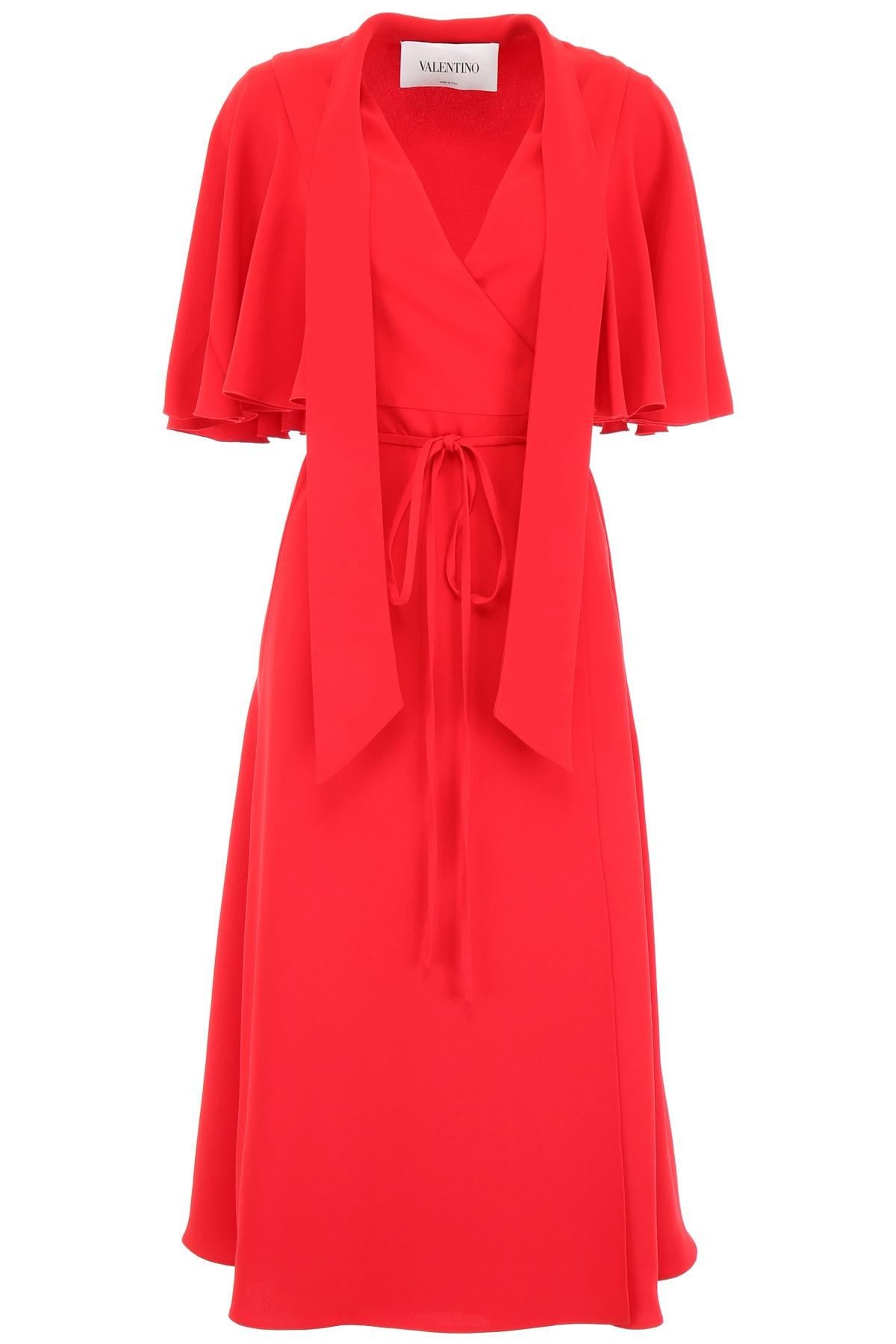 Valentino V Neck Dress