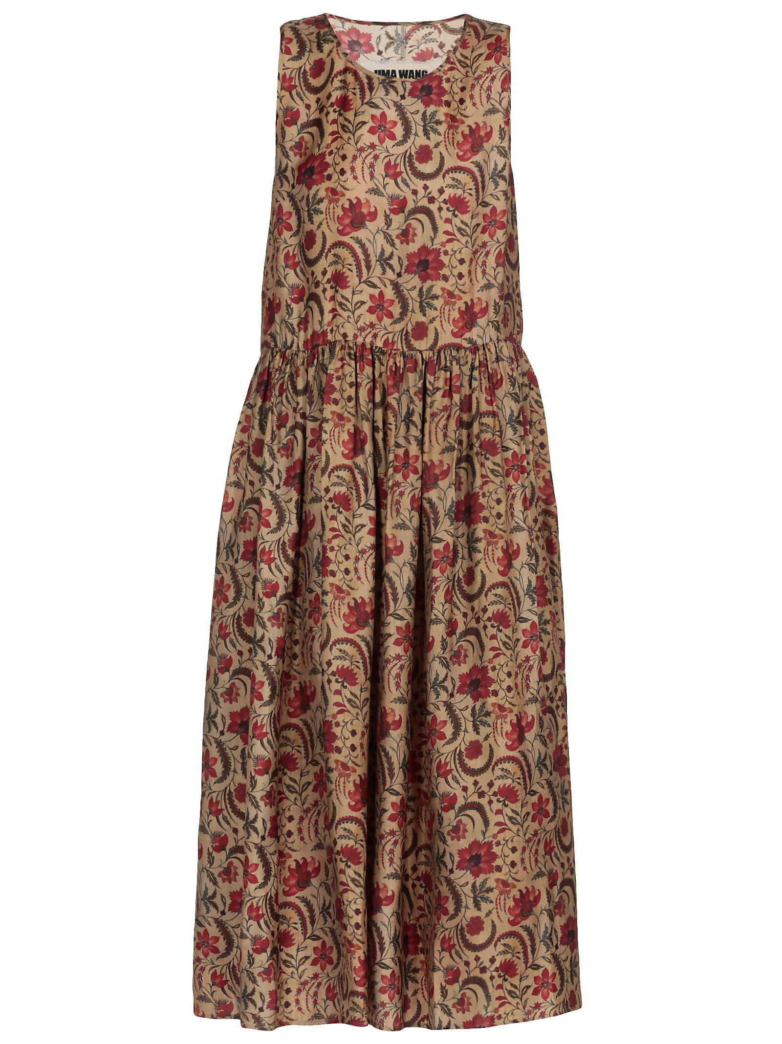 Buy Uma Wang Printed Dress online, shop Uma Wang with free shipping