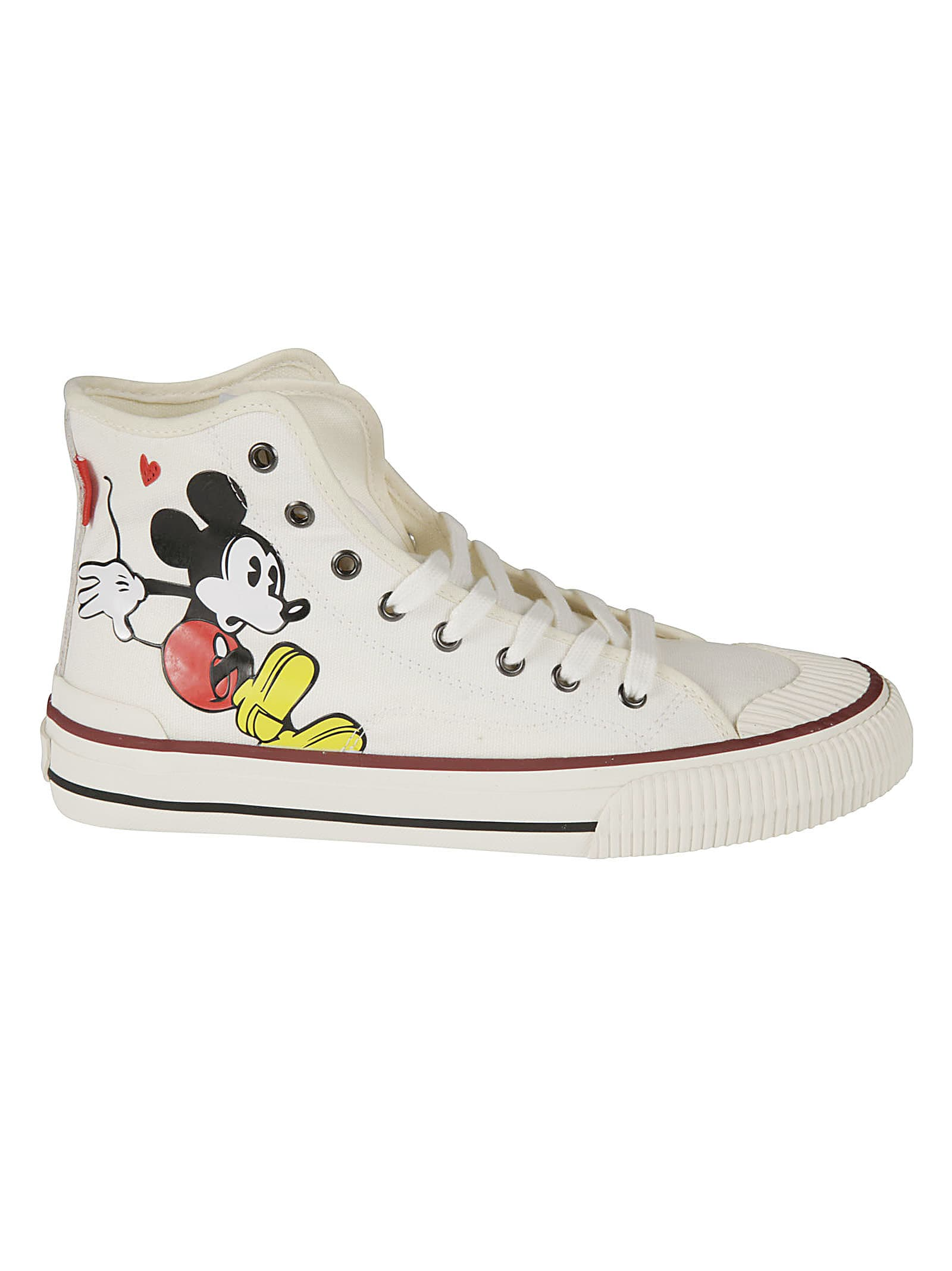 M.O.A. master of arts Mickey Mouse Print Sneakers