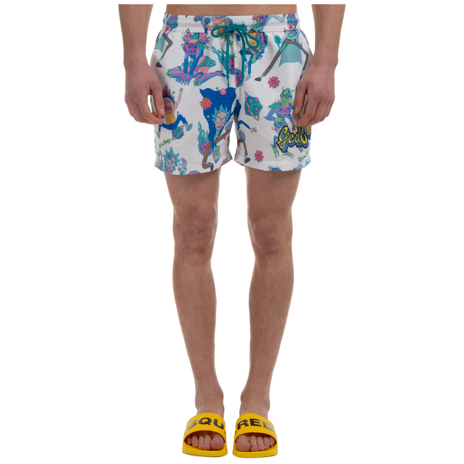 Gcds GCDS RICK & MORTY SWIMMING TRUNKS
